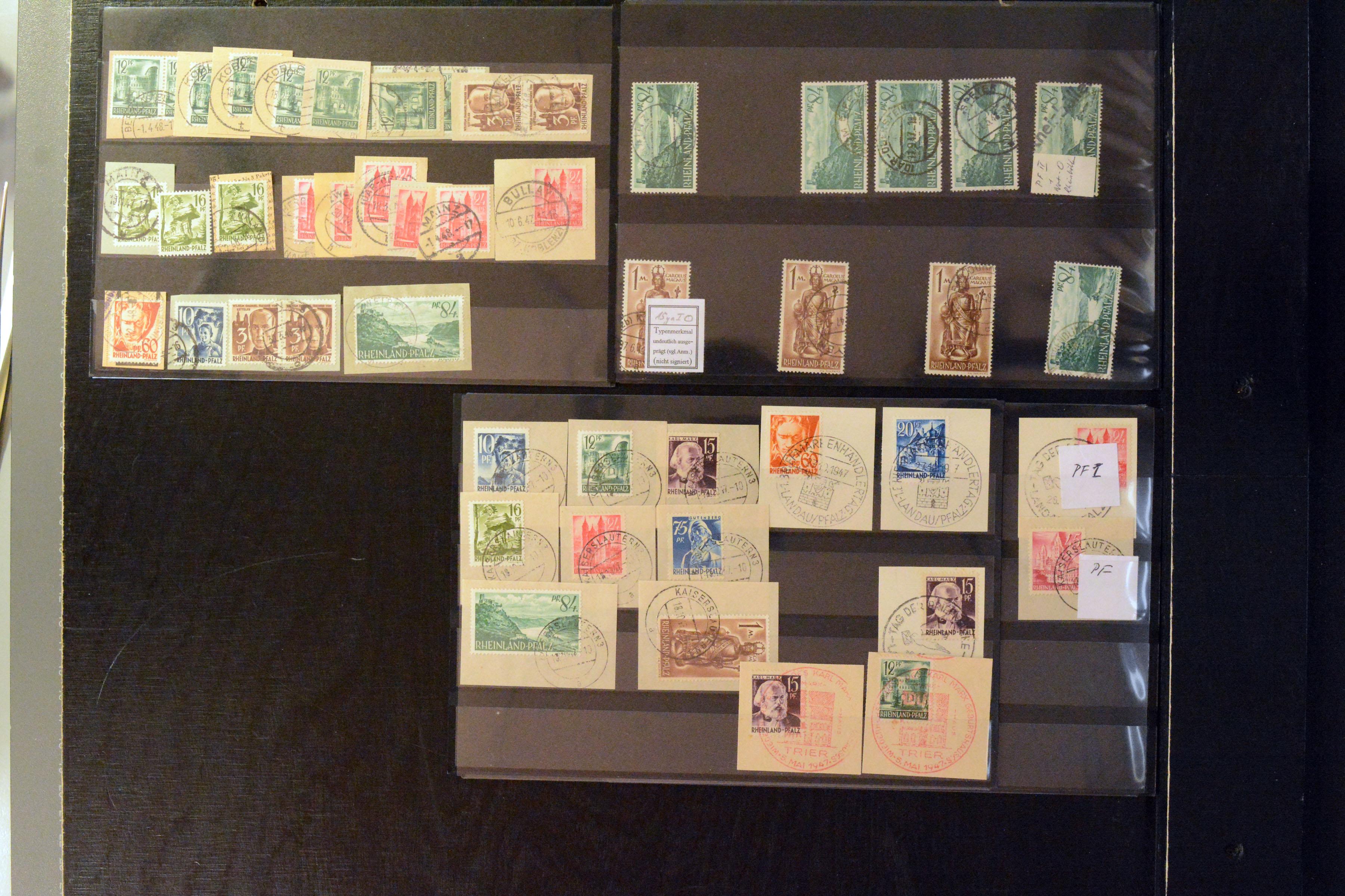 Lot 5222 - french occupation zone french occupation zone - rheinland-pfalz -  Heinrich Koehler Auktionen Auction #368- Day 3