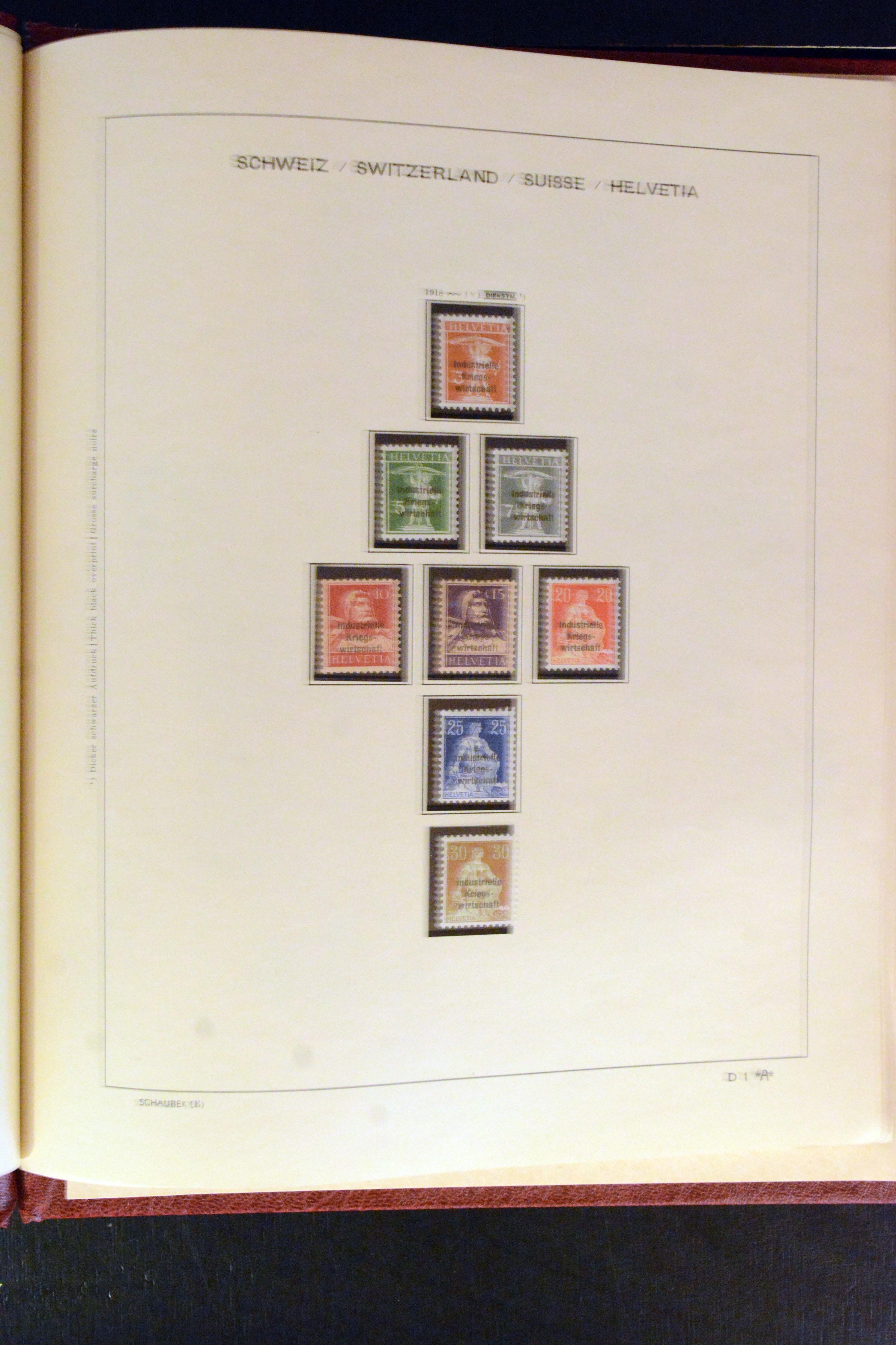 Lot 4353 - Switzerland swiss federal post -  Heinrich Koehler Auktionen Auction #368- Day 3