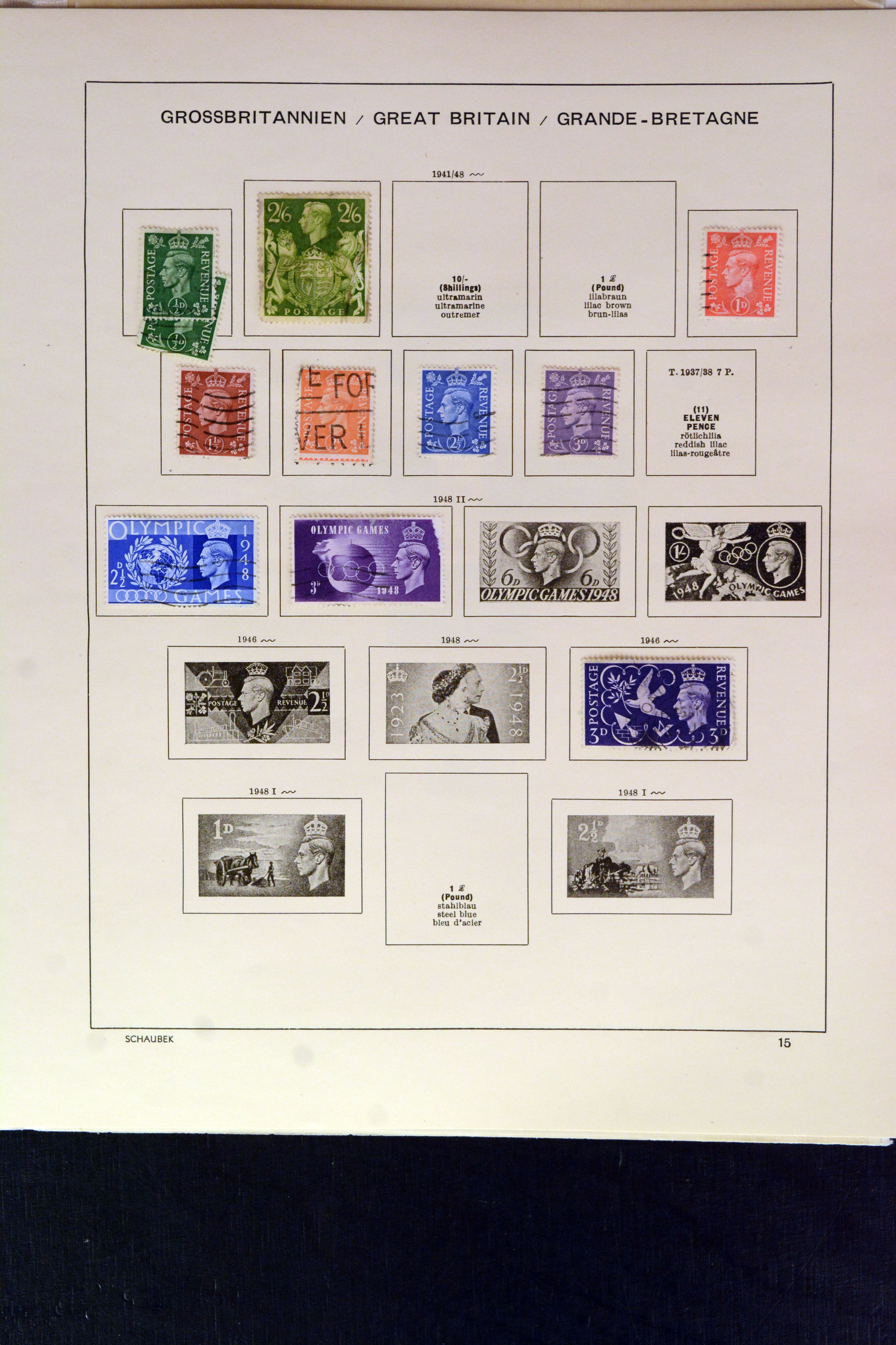 Lot 4134 - Main catalogue Great Britain -  Heinrich Koehler Auktionen Auction #368- Day 3