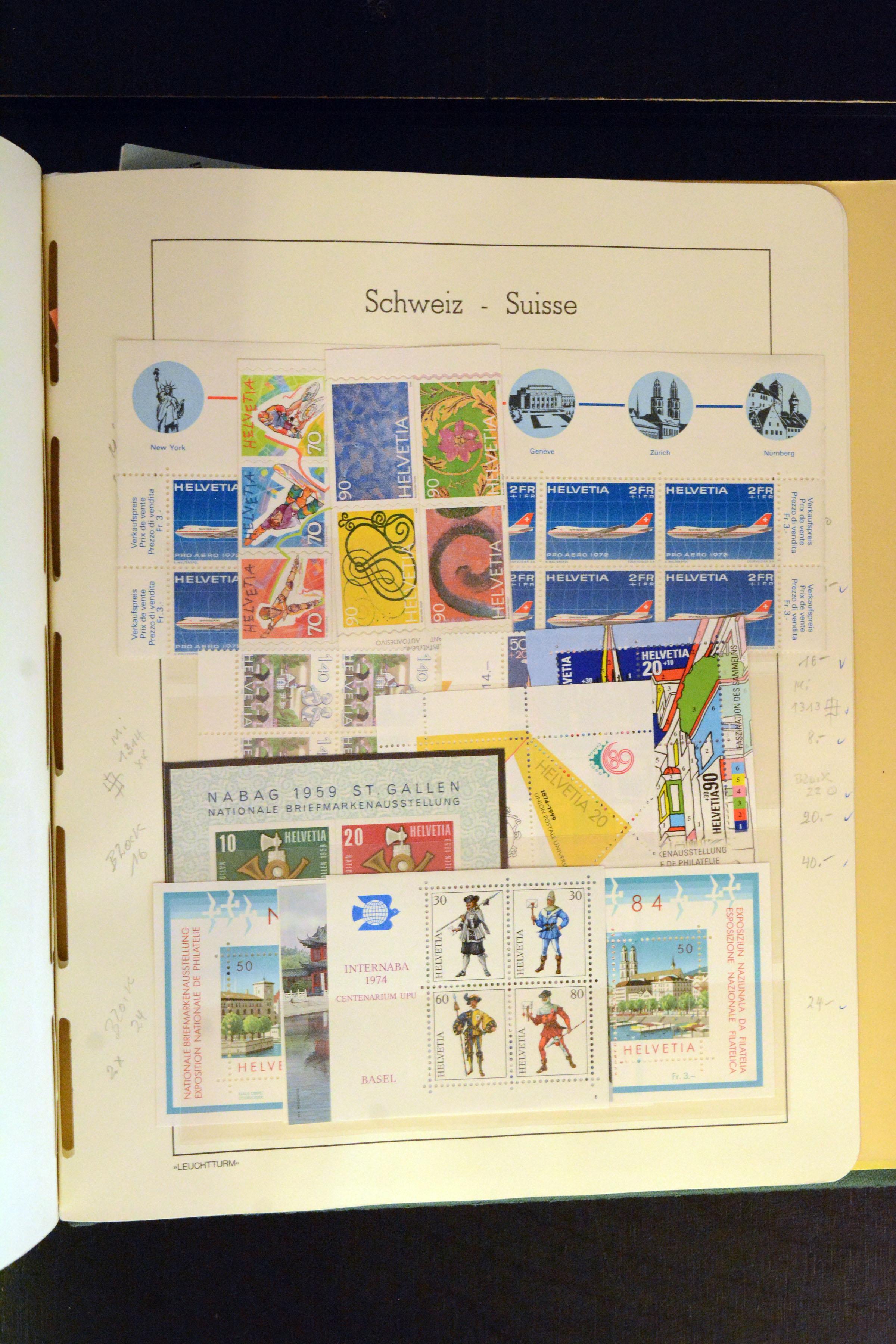 Lot 4360 - Switzerland swiss federal post -  Heinrich Koehler Auktionen Auction #368- Day 3