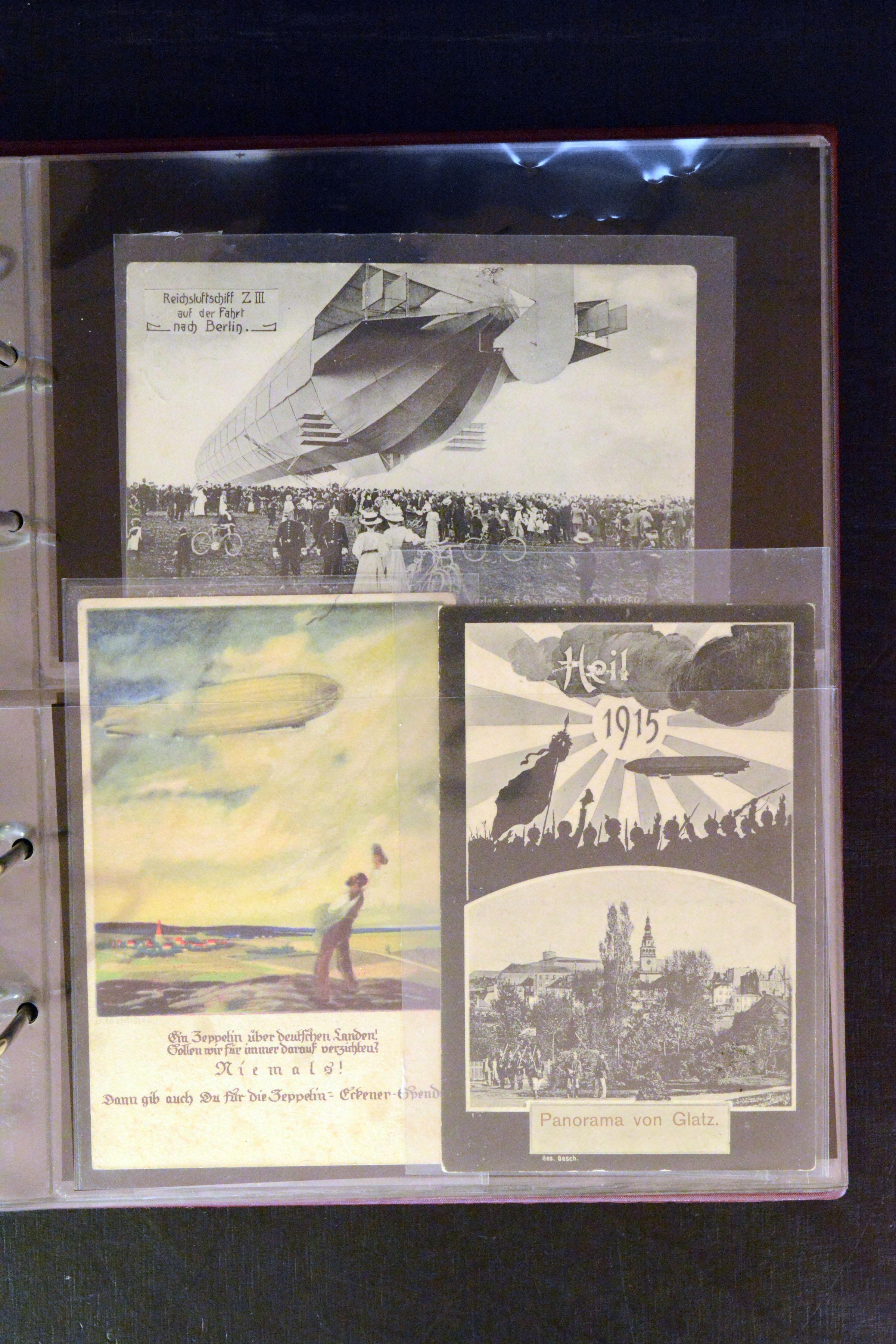 Lot 4587 - airmail zeppelin -  Heinrich Koehler Auktionen Auction #368- Day 3
