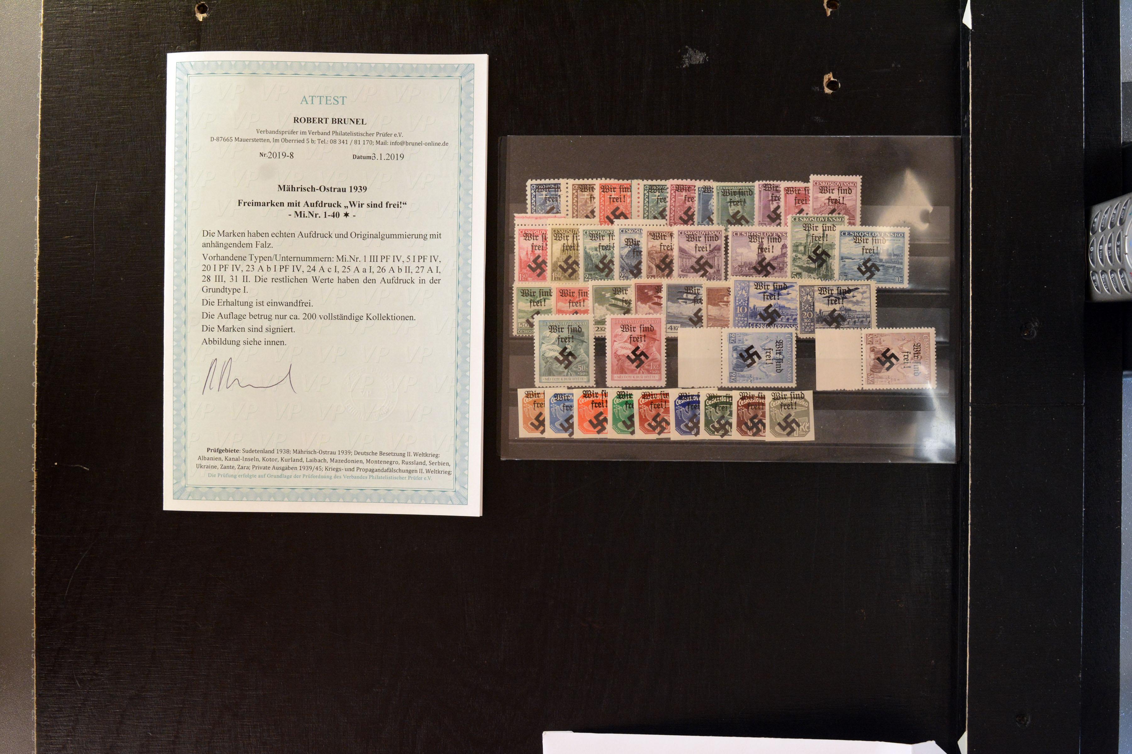 Lot 4957 - bohemia and moravia mährisch-ostrau -  Heinrich Koehler Auktionen Auction #368- Day 3