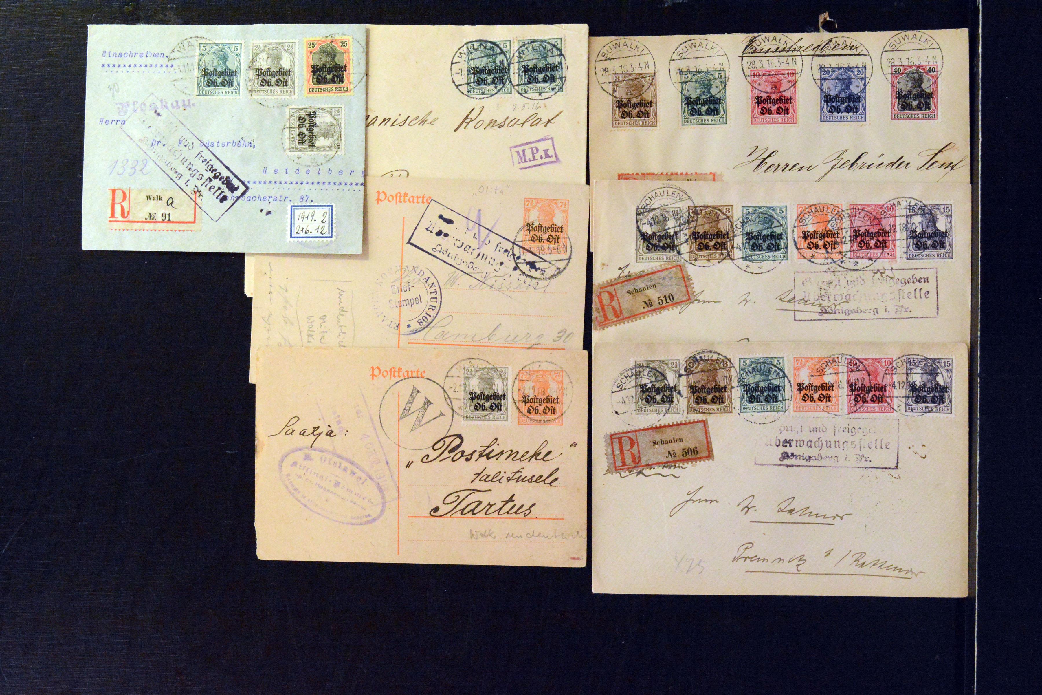 Lot 4842 - Occupation World War I. ober ost -  Heinrich Koehler Auktionen Auction #368- Day 3