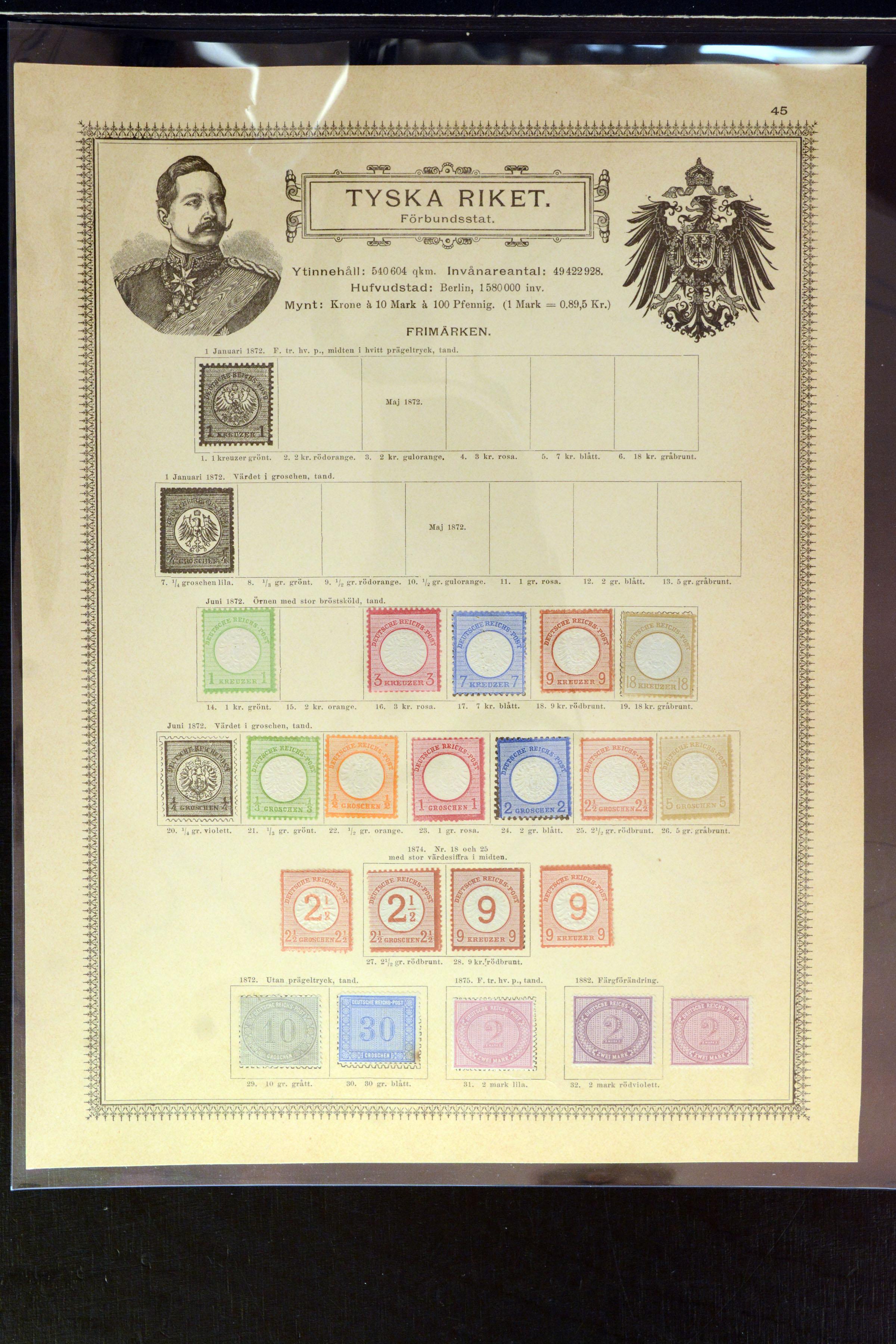 Lot 4002 - Main catalogue German Empire -  Heinrich Koehler Auktionen Auction #368- Day 3