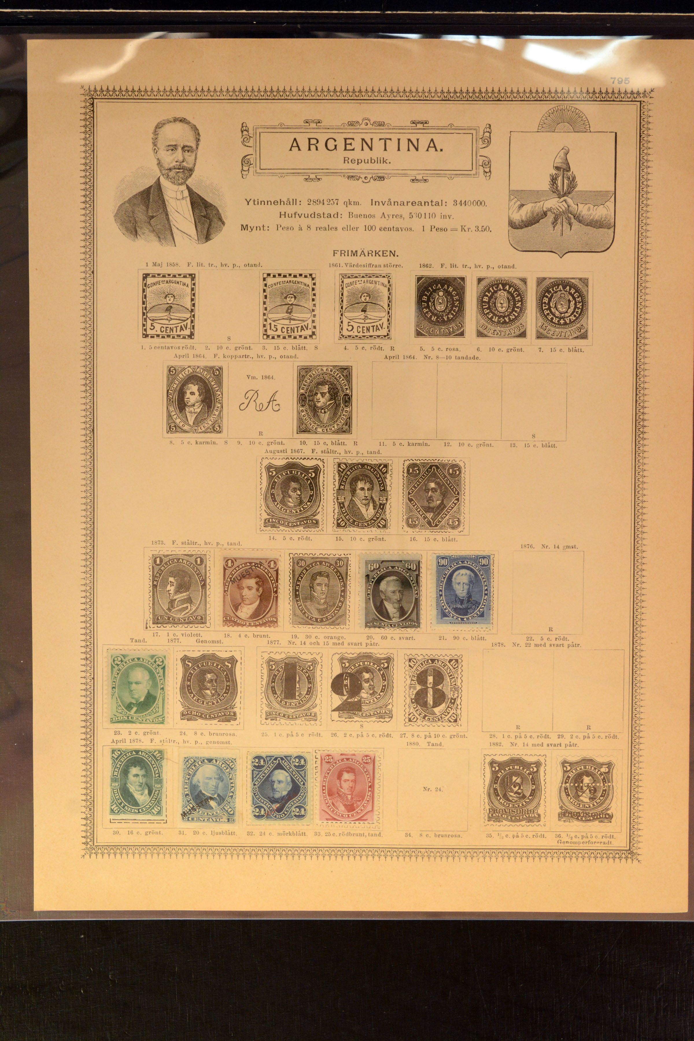 Lot 4026 - Overseas Argentina -  Heinrich Koehler Auktionen Auction #368- Day 3