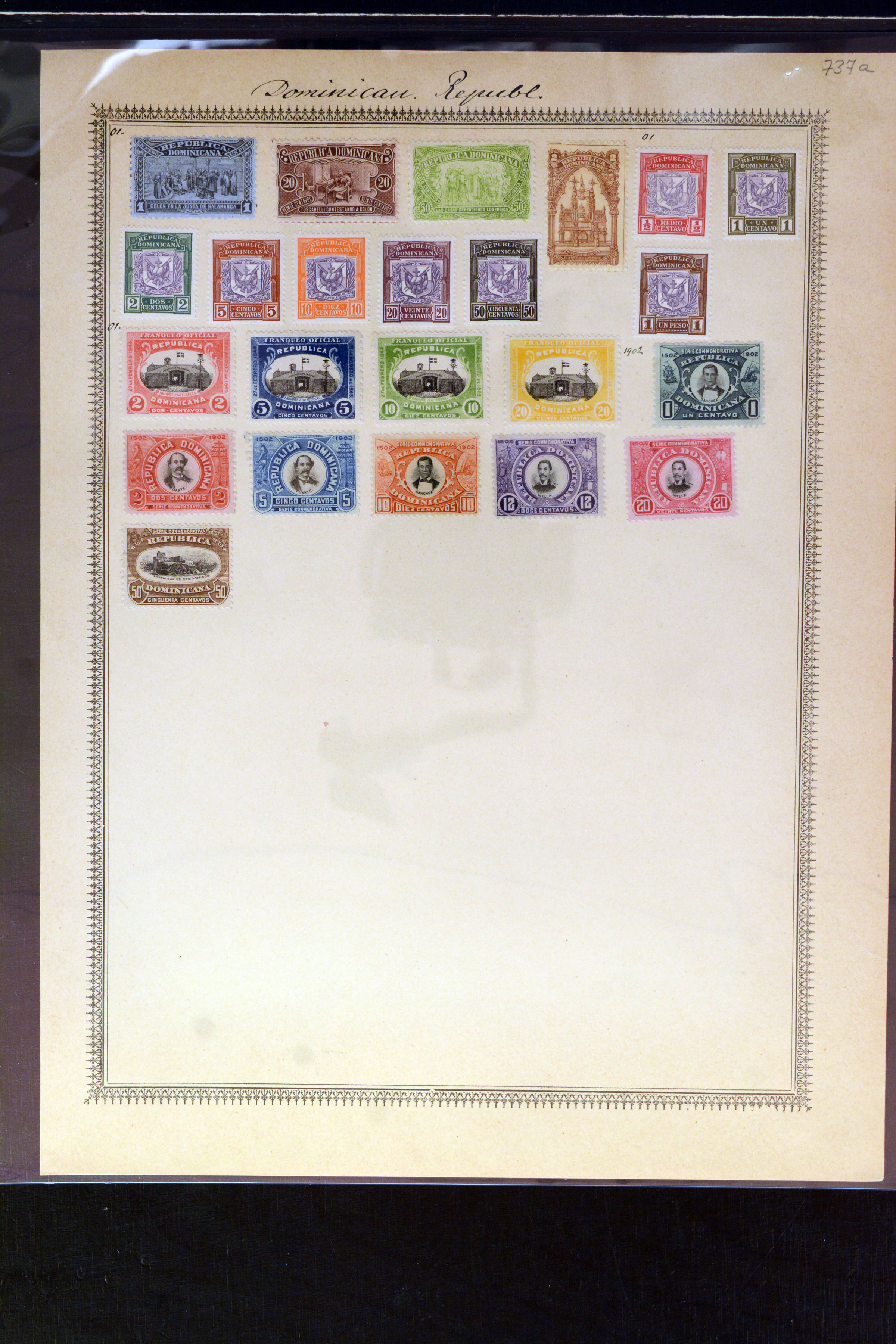 Lot 4031 - Overseas dominican republic -  Heinrich Koehler Auktionen Auction #368- Day 3