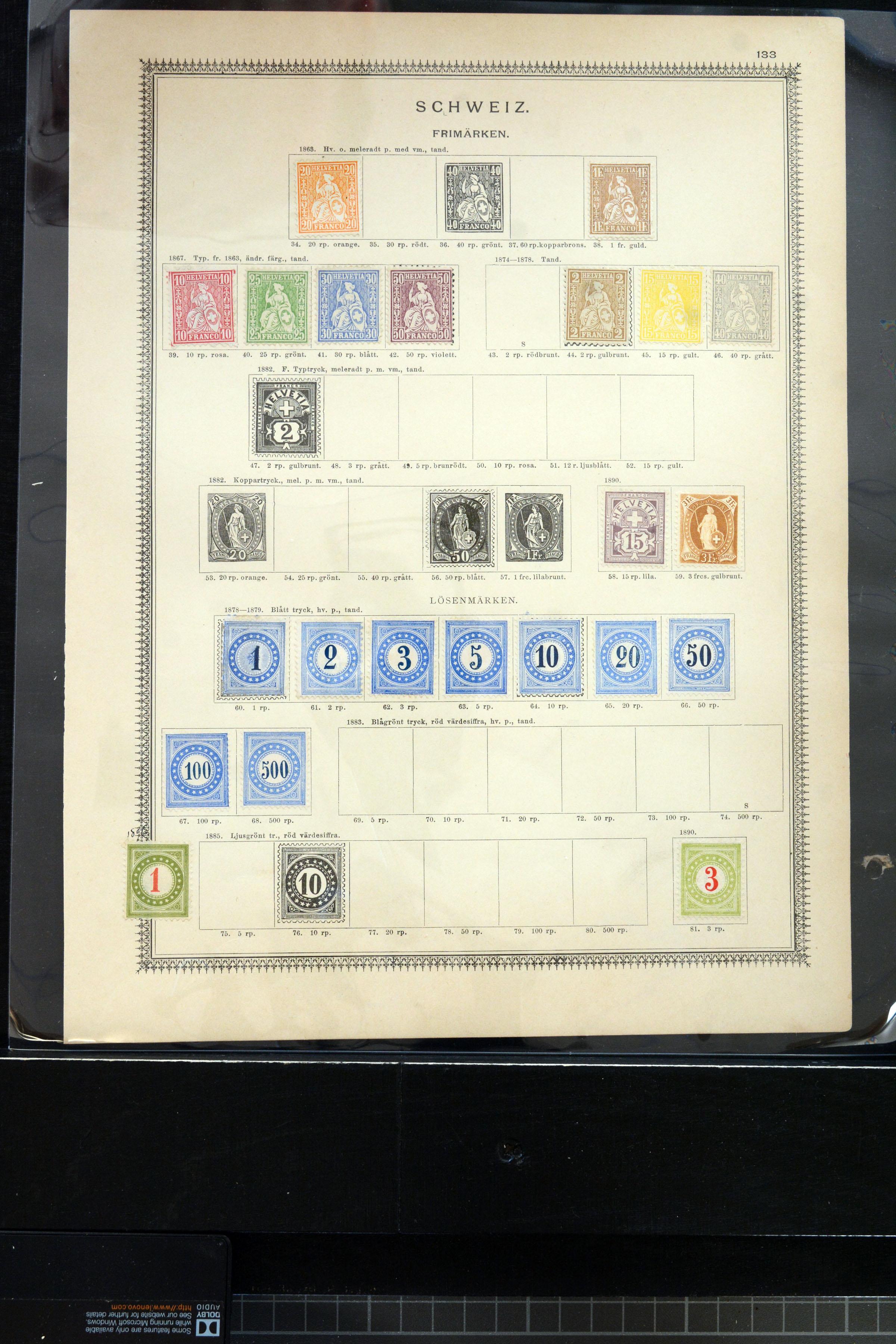 Lot 4021 - europe Switzerland -  Heinrich Koehler Auktionen Auction #368- Day 3