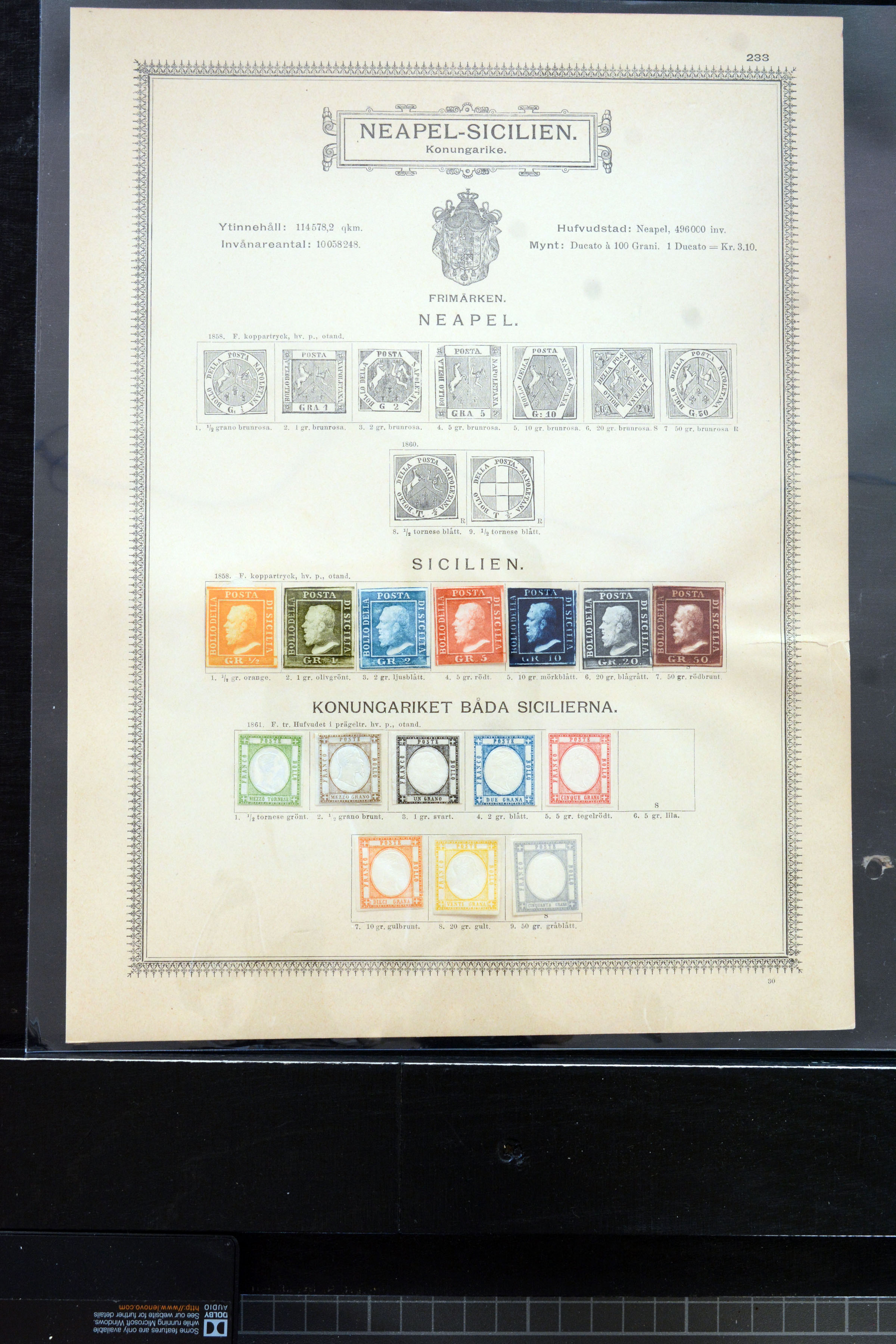 Lot 4010 - europe italian states -  Heinrich Koehler Auktionen Auction #368- Day 3