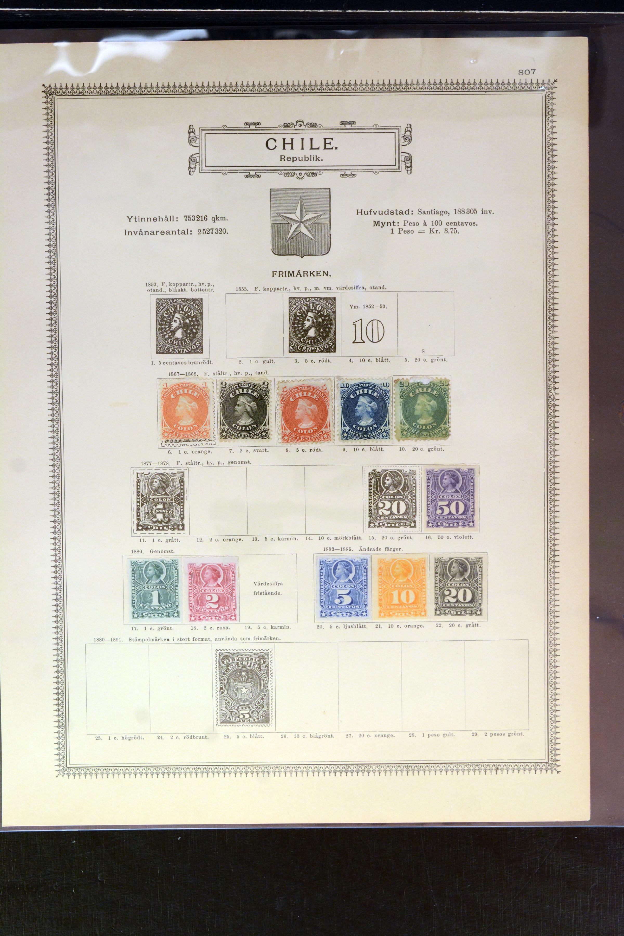Lot 4029 - Overseas Chile -  Heinrich Koehler Auktionen Auction #368- Day 3