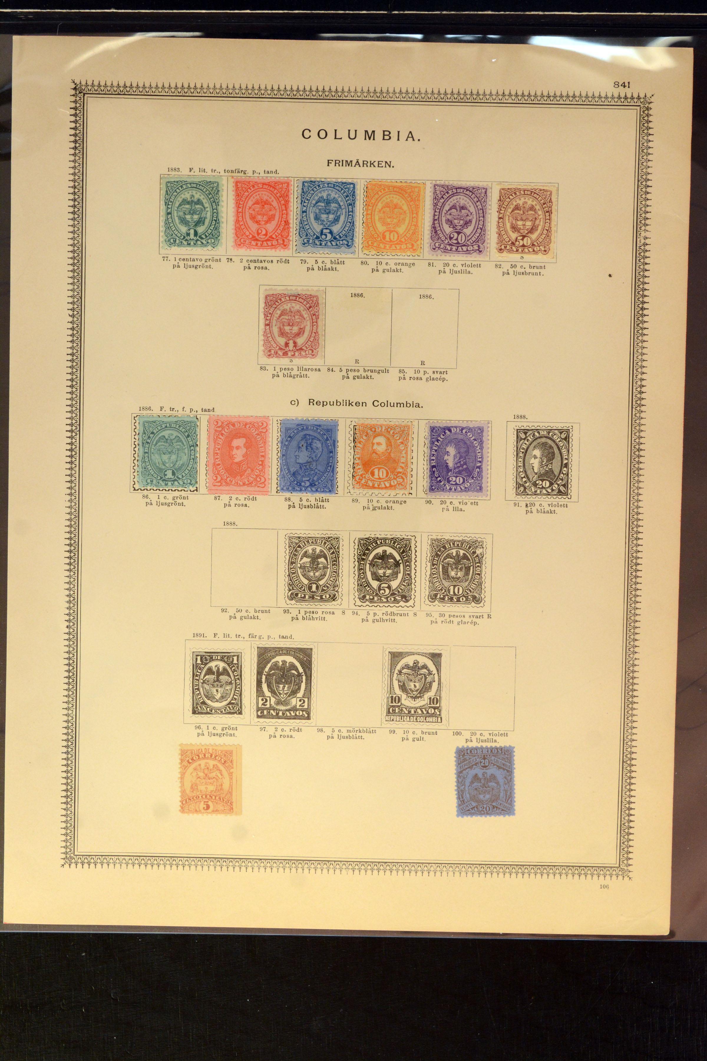 Lot 4035 - Overseas Colombia -  Heinrich Koehler Auktionen Auction #368- Day 3