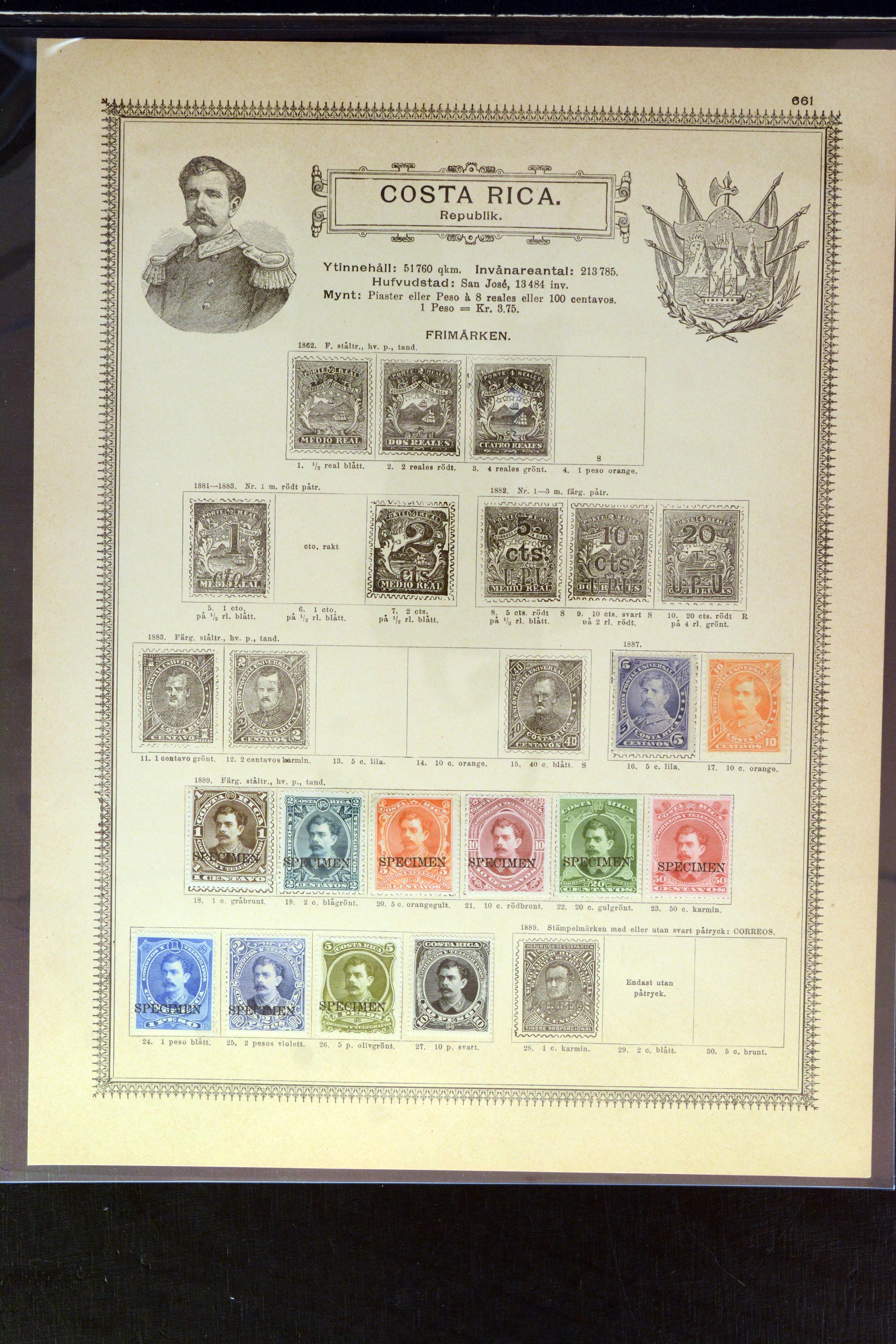 Lot 4030 - Overseas Costa Rica -  Heinrich Koehler Auktionen Auction #368- Day 3