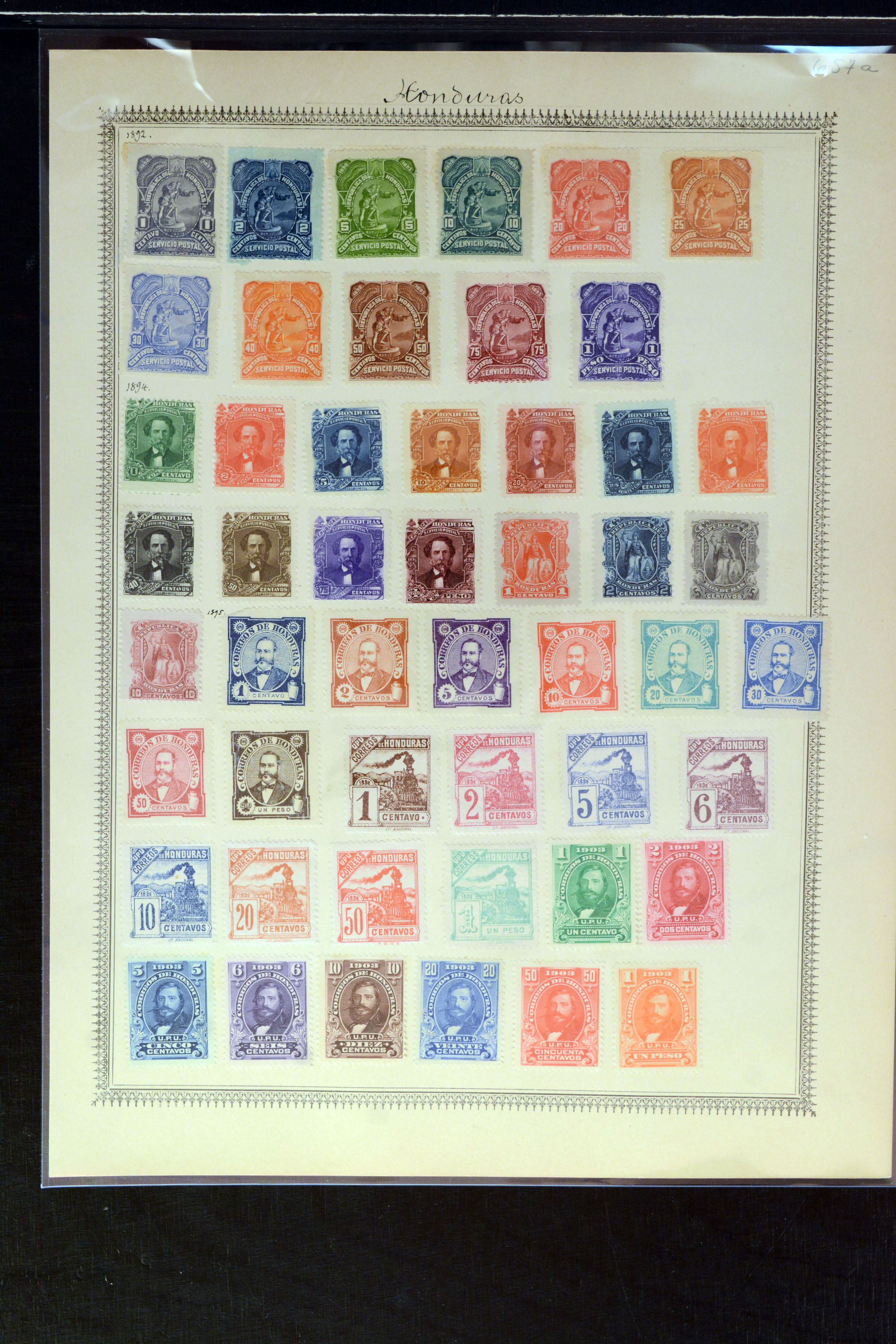 Lot 4034 - Overseas Honduras -  Heinrich Koehler Auktionen Auction #368- Day 3