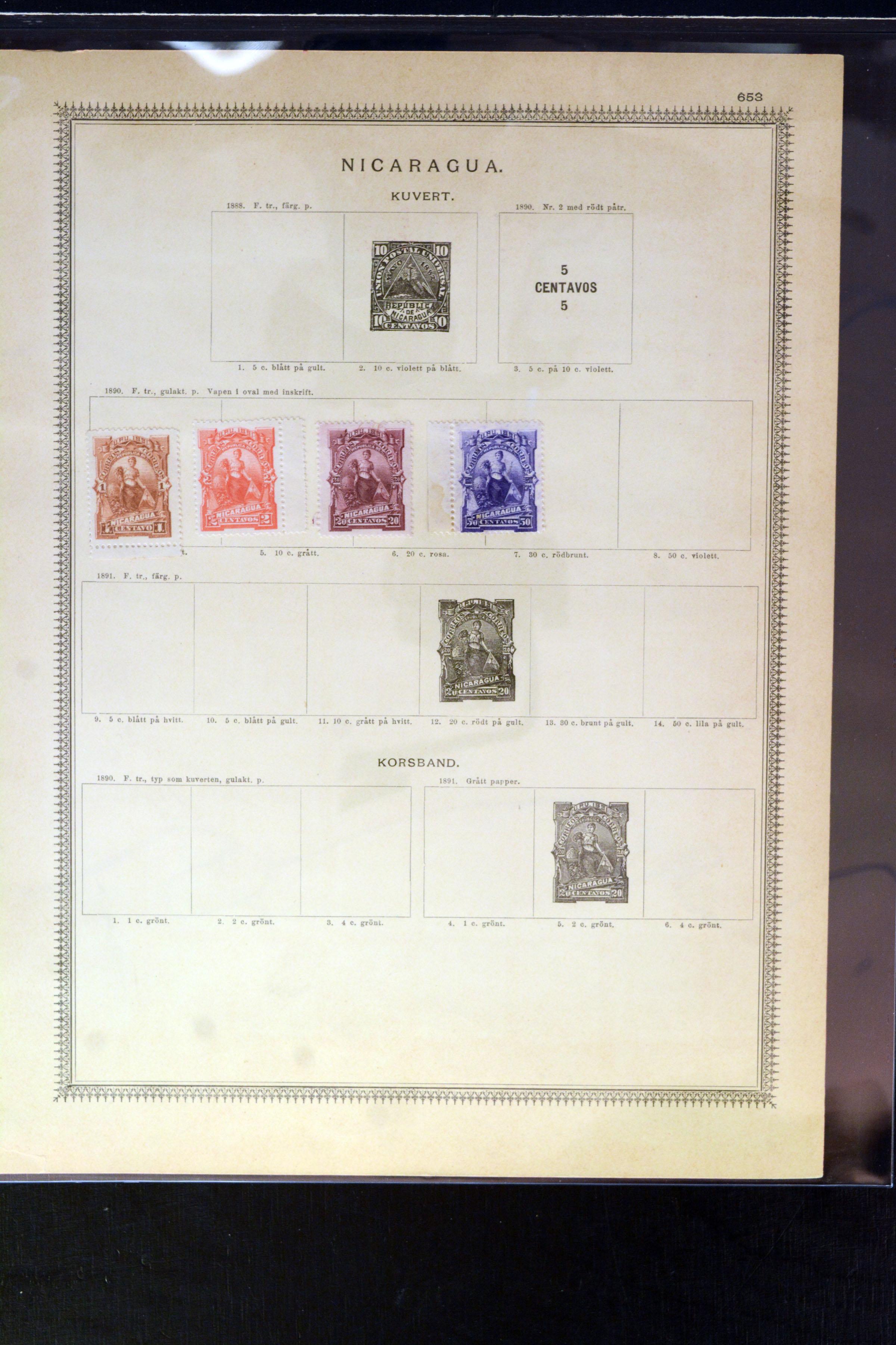 Lot 4037 - Overseas nicaragua -  Heinrich Koehler Auktionen Auction #368- Day 3
