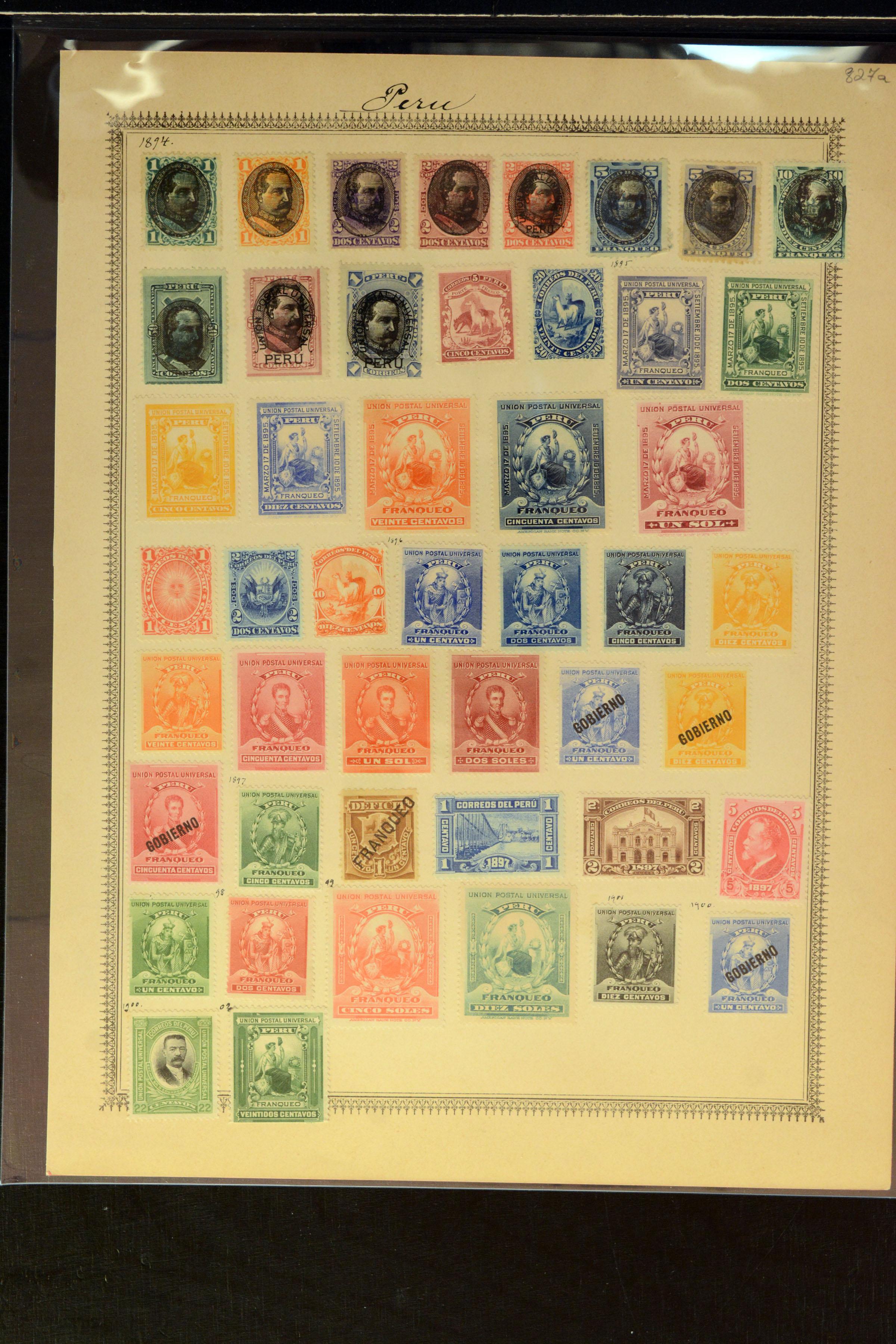 Lot 4038 - Overseas Peru -  Heinrich Koehler Auktionen Auction #368- Day 3