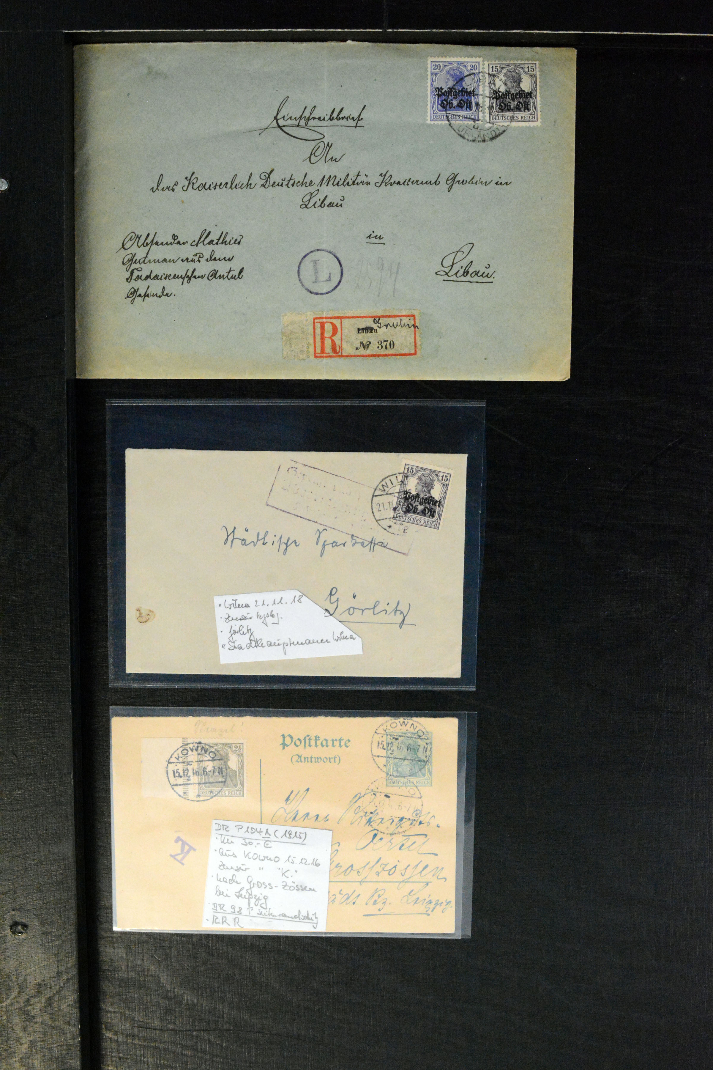 Lot 4844 - Occupation World War I. ober ost -  Heinrich Koehler Auktionen Auction #368- Day 3