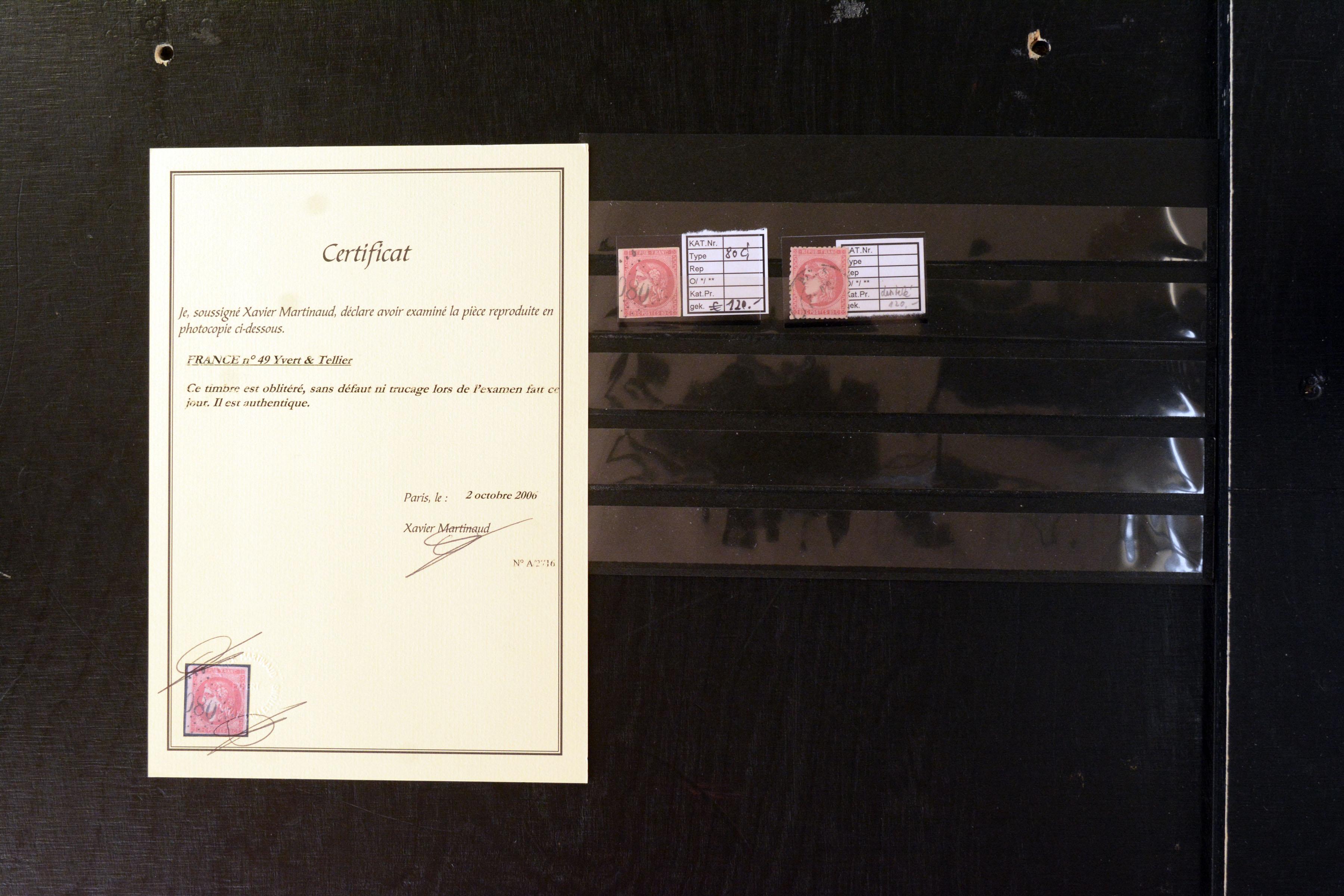Lot 4095 - europe France -  Heinrich Koehler Auktionen Auction #368- Day 3
