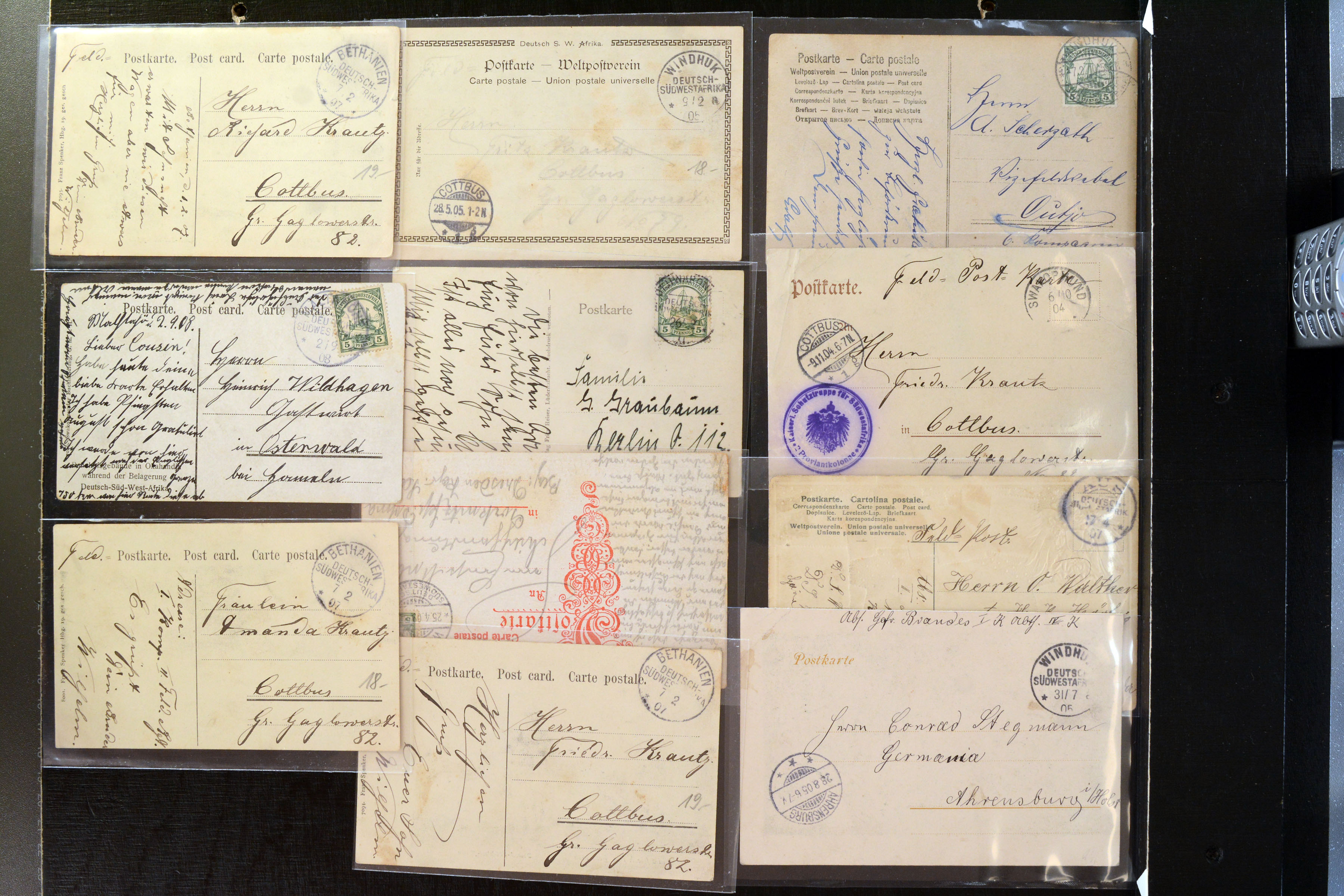 Lot 4827 - german colonies and offices abroad german south-west africa -  Heinrich Koehler Auktionen Auction #368- Day 3