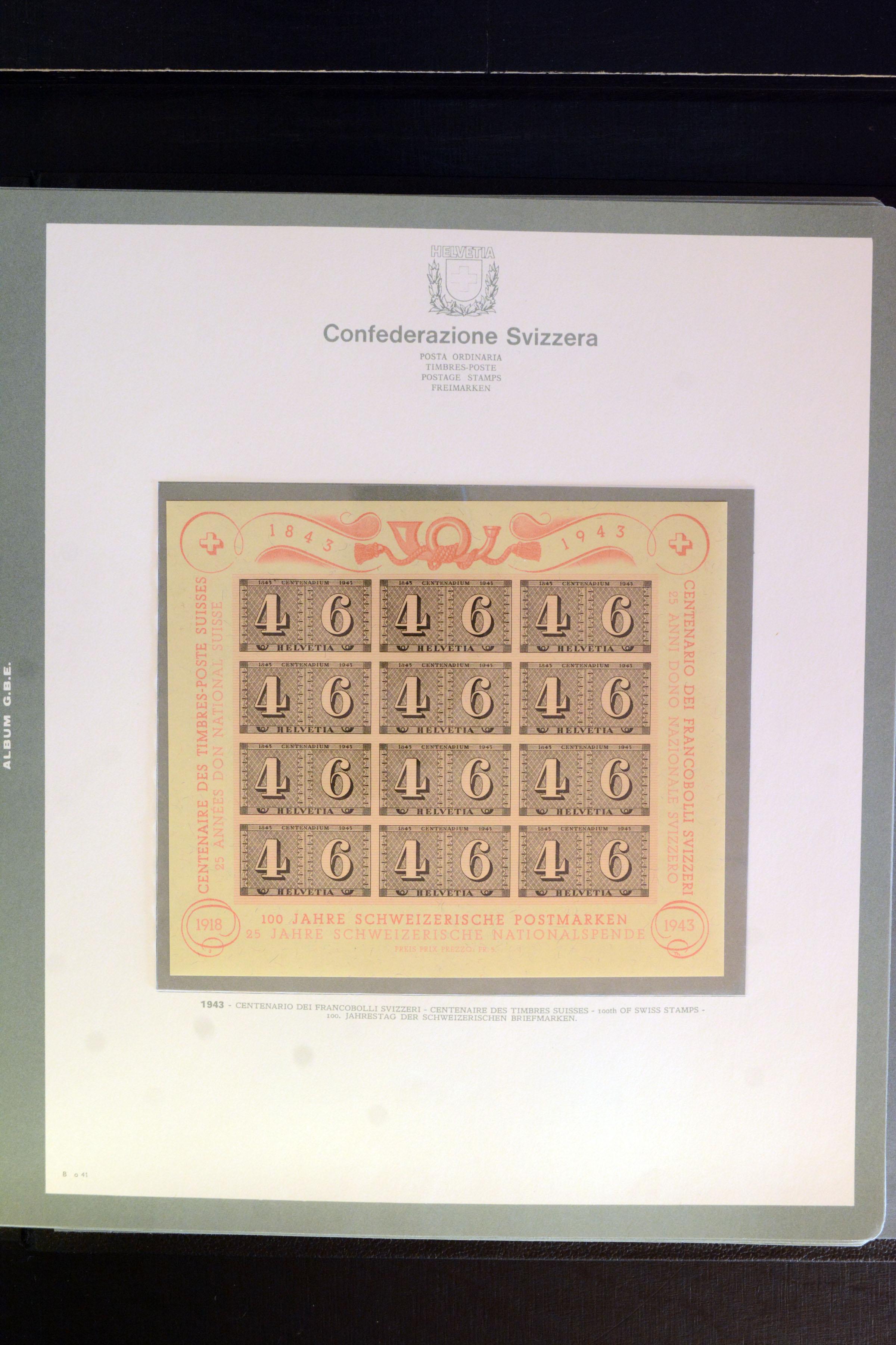 Lot 4357 - Switzerland swiss federal post -  Heinrich Koehler Auktionen Auction #368- Day 3