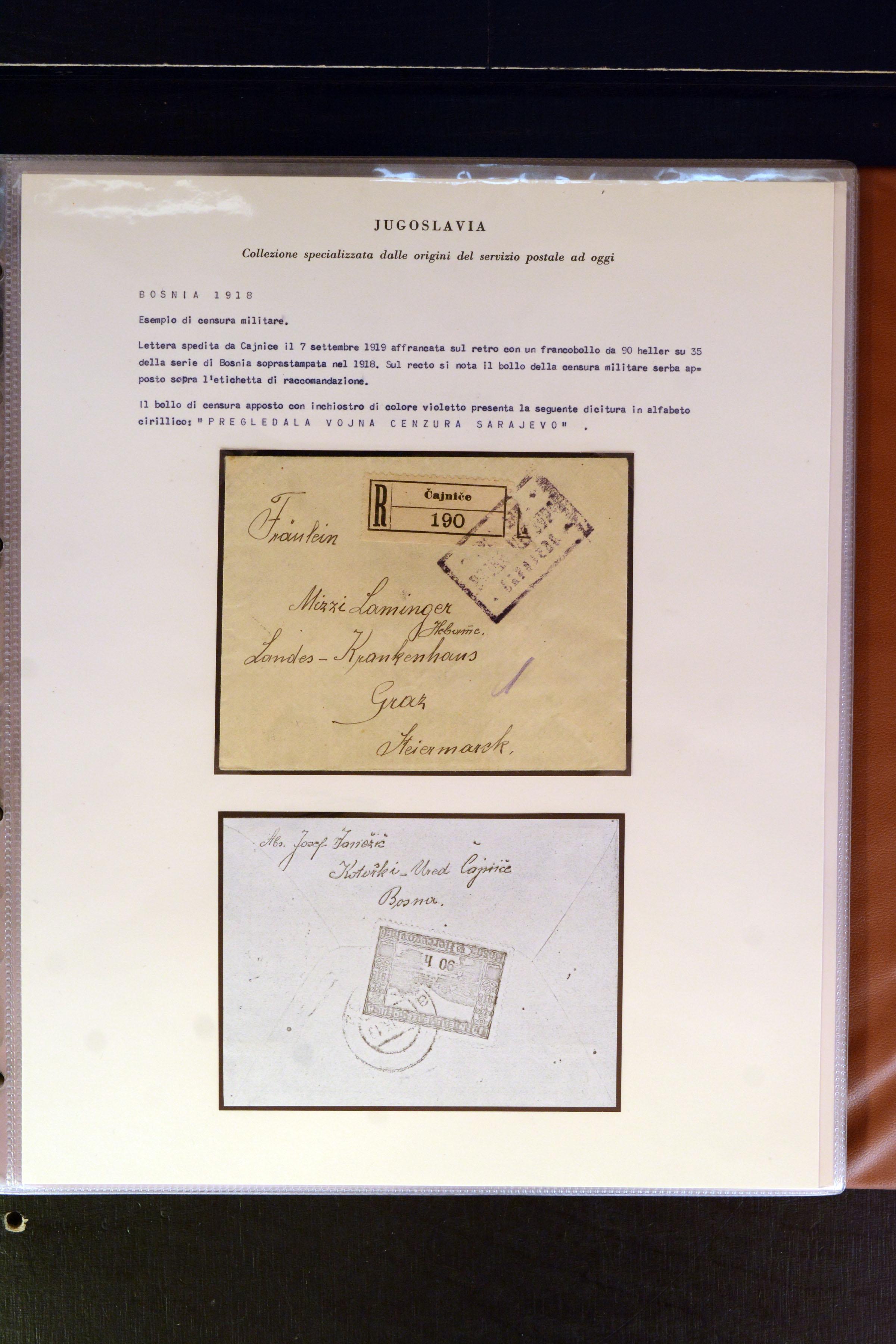 Lot 4213 - europe Yugoslavia -  Heinrich Koehler Auktionen Auction #368- Day 3