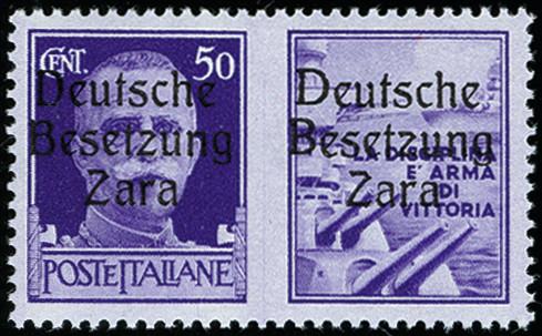 Lot 2454 - german occupation issues 1939/45 zara -  Heinrich Koehler Auktionen Auction #371- Day 4