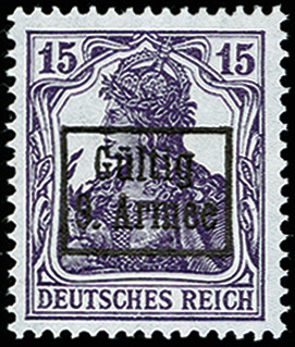 Lot 7244 - military administration in romania 9th army -  Heinrich Koehler Auktionen Auction #371- Day 4