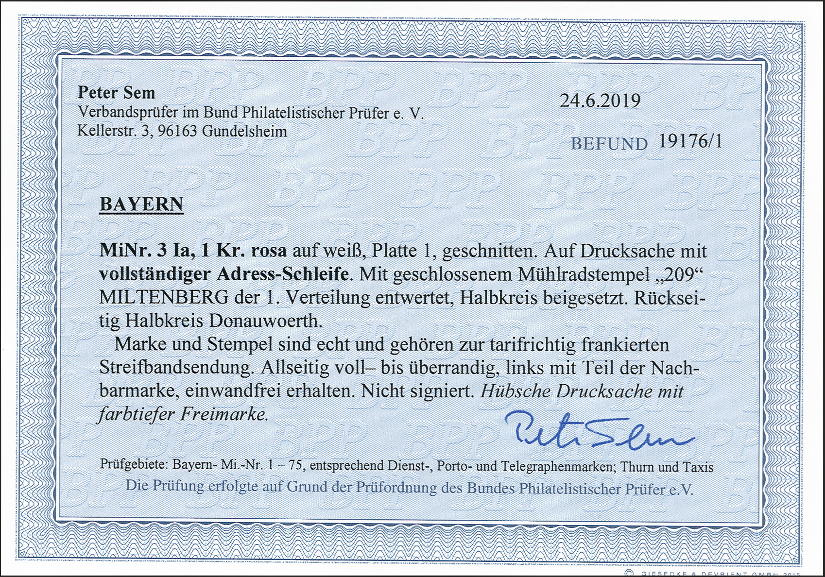 Lot 23 - Altdeutsche Staaten bavaria -  Heinrich Koehler Auktionen 372nd Auction - The ERIVAN Collection