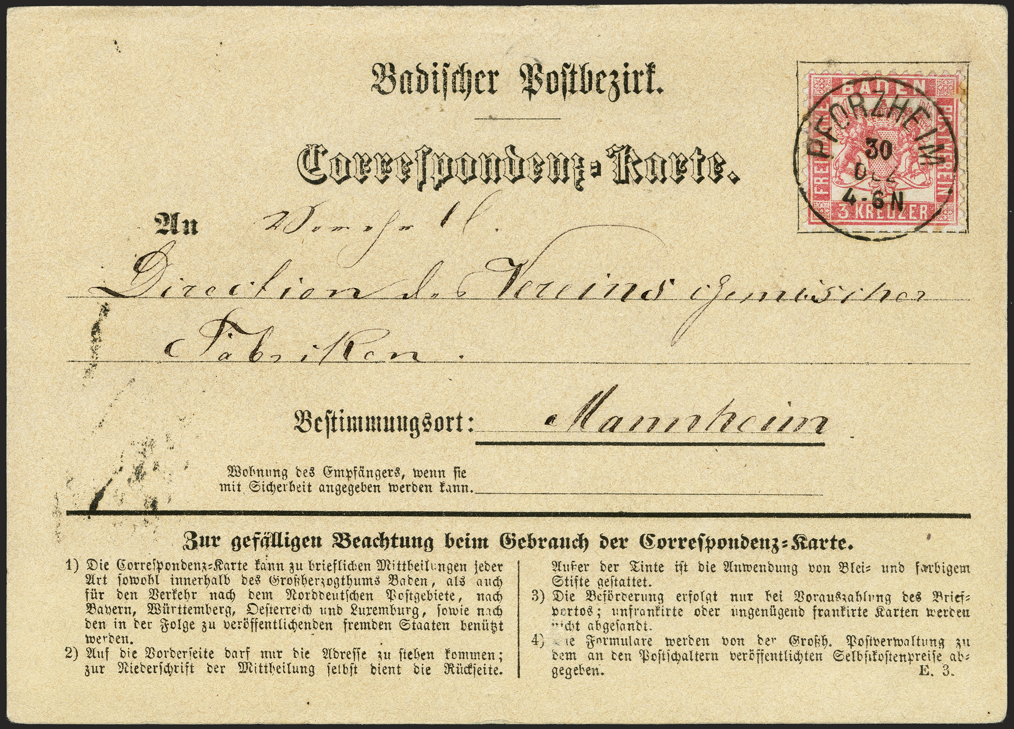 Lot 9 - Altdeutsche Staaten Baden -  Heinrich Koehler Auktionen 372nd Auction - The ERIVAN Collection