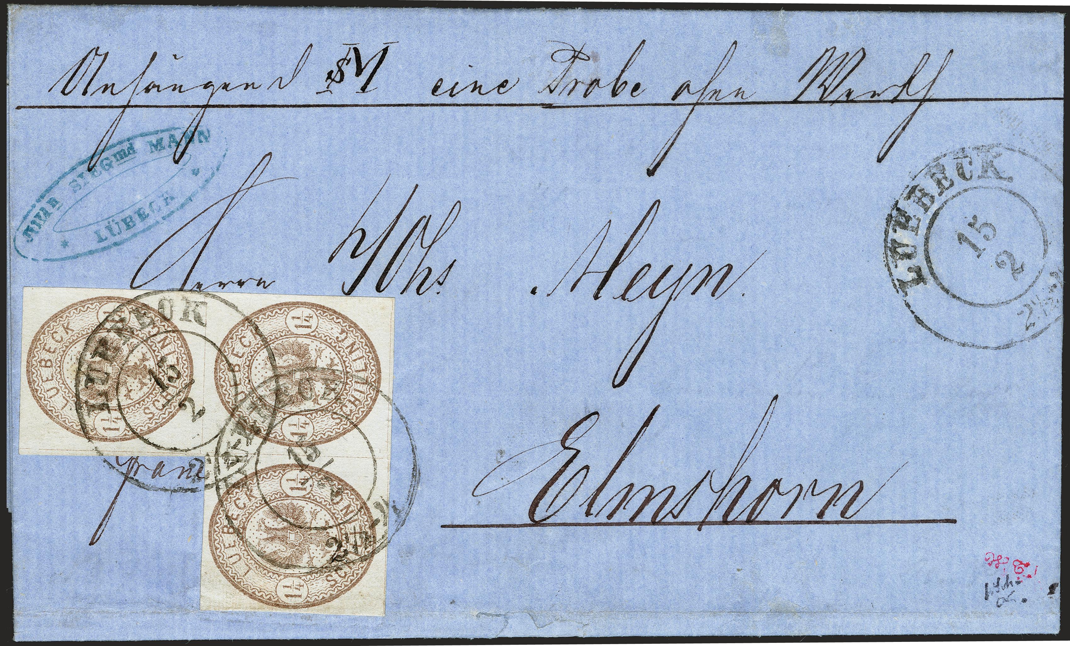 Lot 119 - Altdeutsche Staaten lübeck -  Heinrich Koehler Auktionen 372nd Auction - The ERIVAN Collection