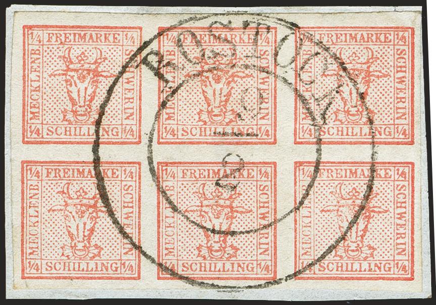Lot 122 - Altdeutsche Staaten mecklenburg-schwerin -  Heinrich Koehler Auktionen 372nd Auction - The ERIVAN Collection