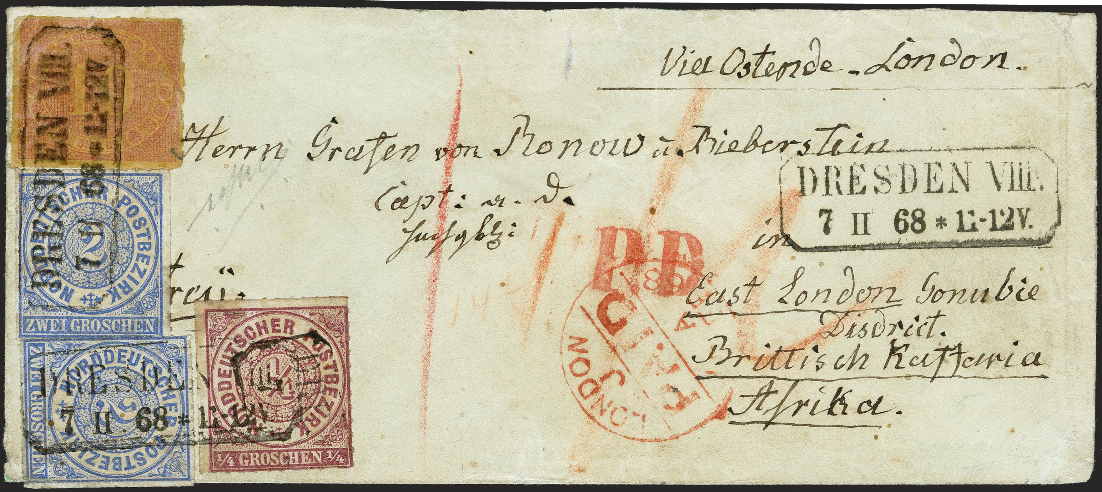 Lot 303 - Altdeutsche Staaten norddeutscher postbezirk -  Heinrich Koehler Auktionen 372nd Auction - The ERIVAN Collection