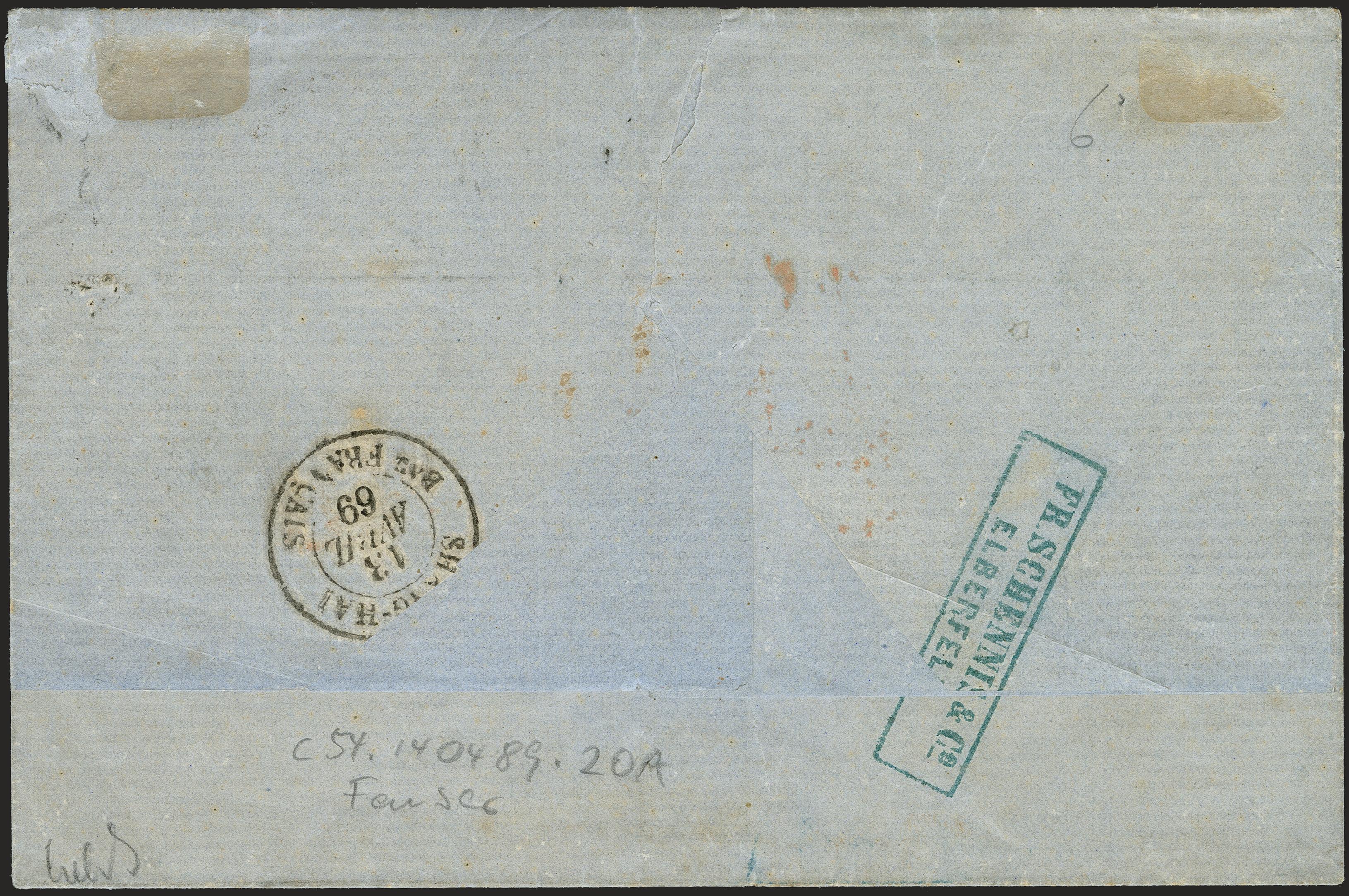 Lot 305 - Altdeutsche Staaten norddeutscher postbezirk -  Heinrich Koehler Auktionen 372nd Auction - The ERIVAN Collection