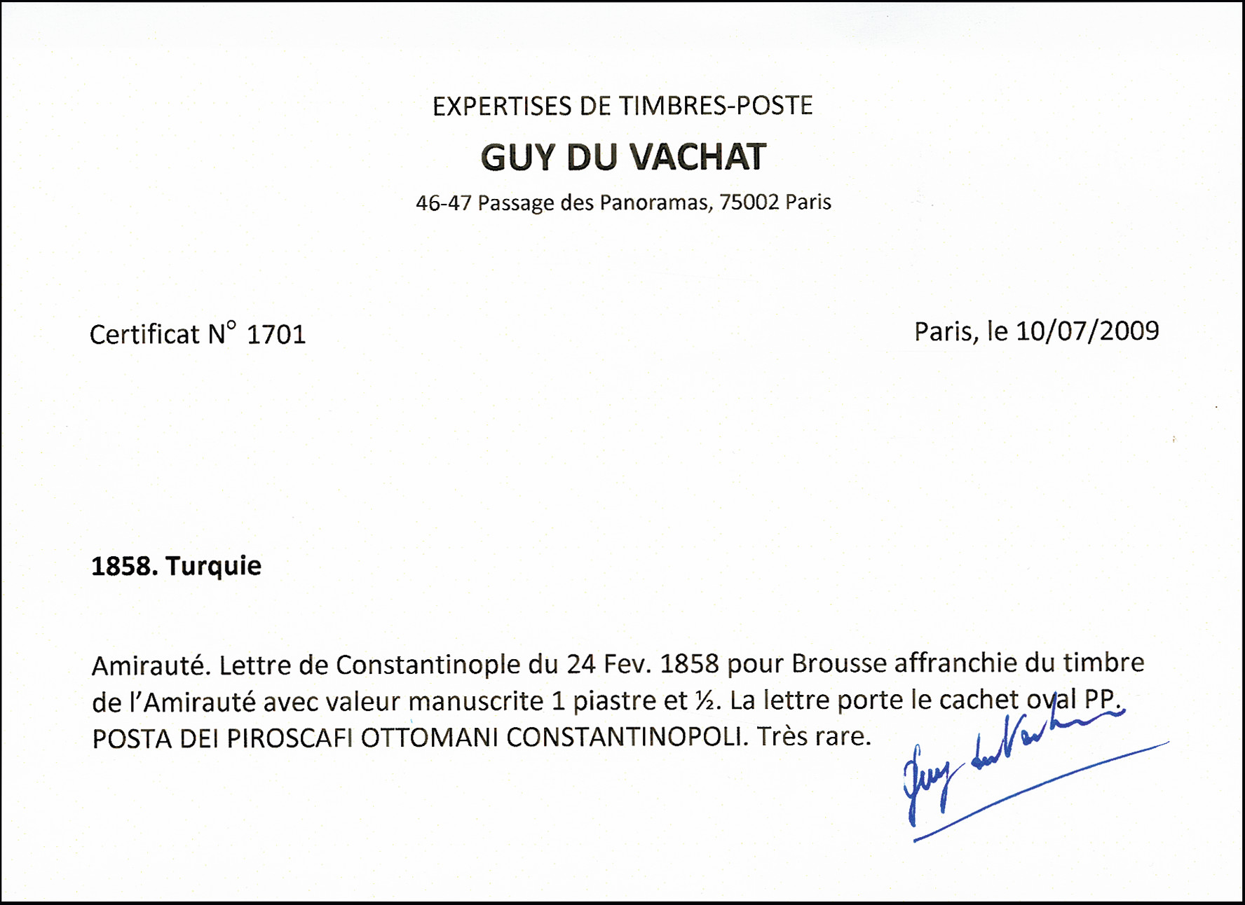 Lot 6004 - thrace Turkey - Ship mail issues, Ship Mail -  Heinrich Koehler Auktionen 373rd Heinrich Köhler auction - Day 1