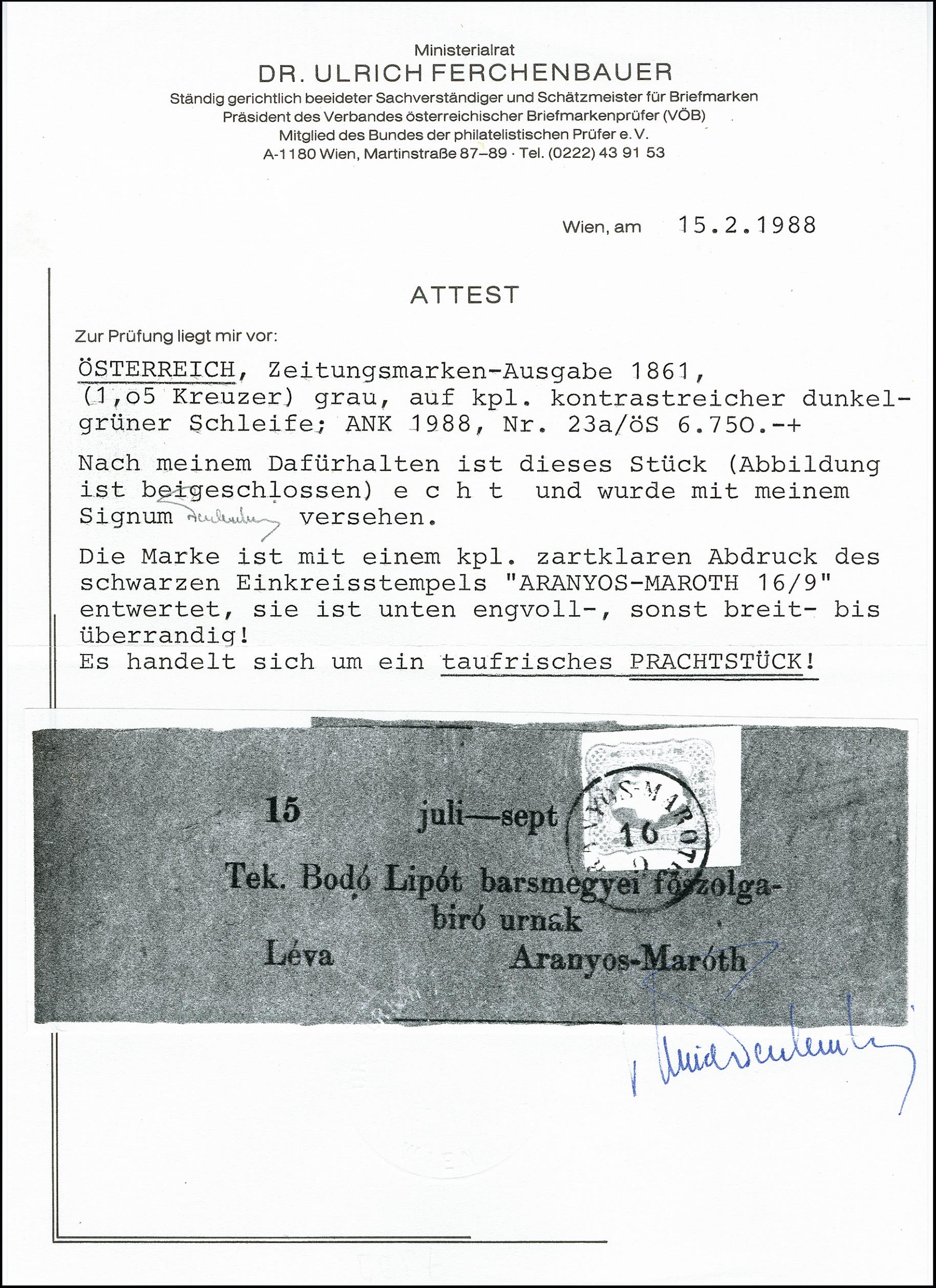 Lot 655 - europe Austria, Hungary -  Heinrich Koehler Auktionen 373rd Heinrich Köhler auction - Day 1