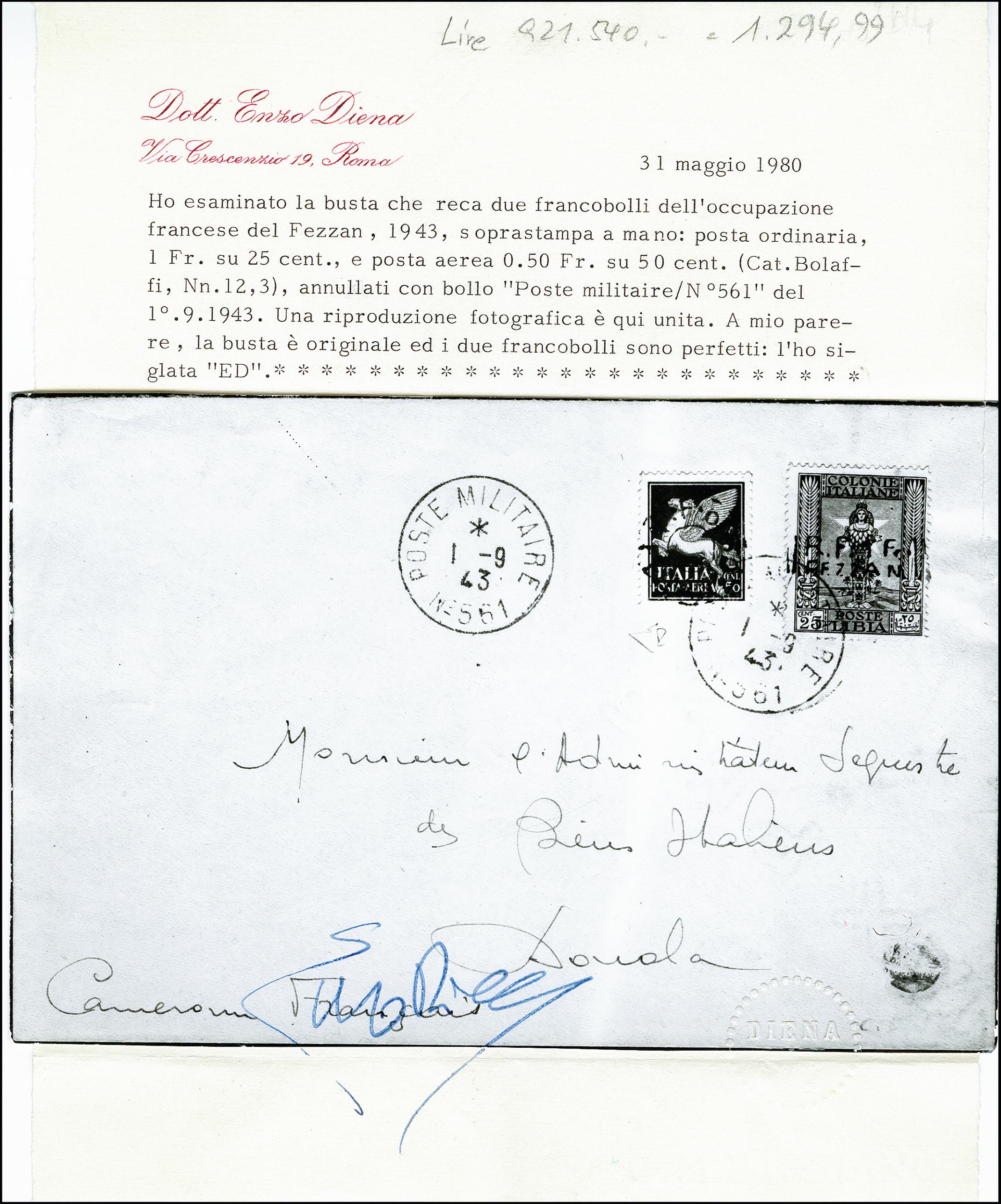 Lot 491 - french colonies fezzan -  Heinrich Koehler Auktionen 373rd Heinrich Köhler auction - Day 1