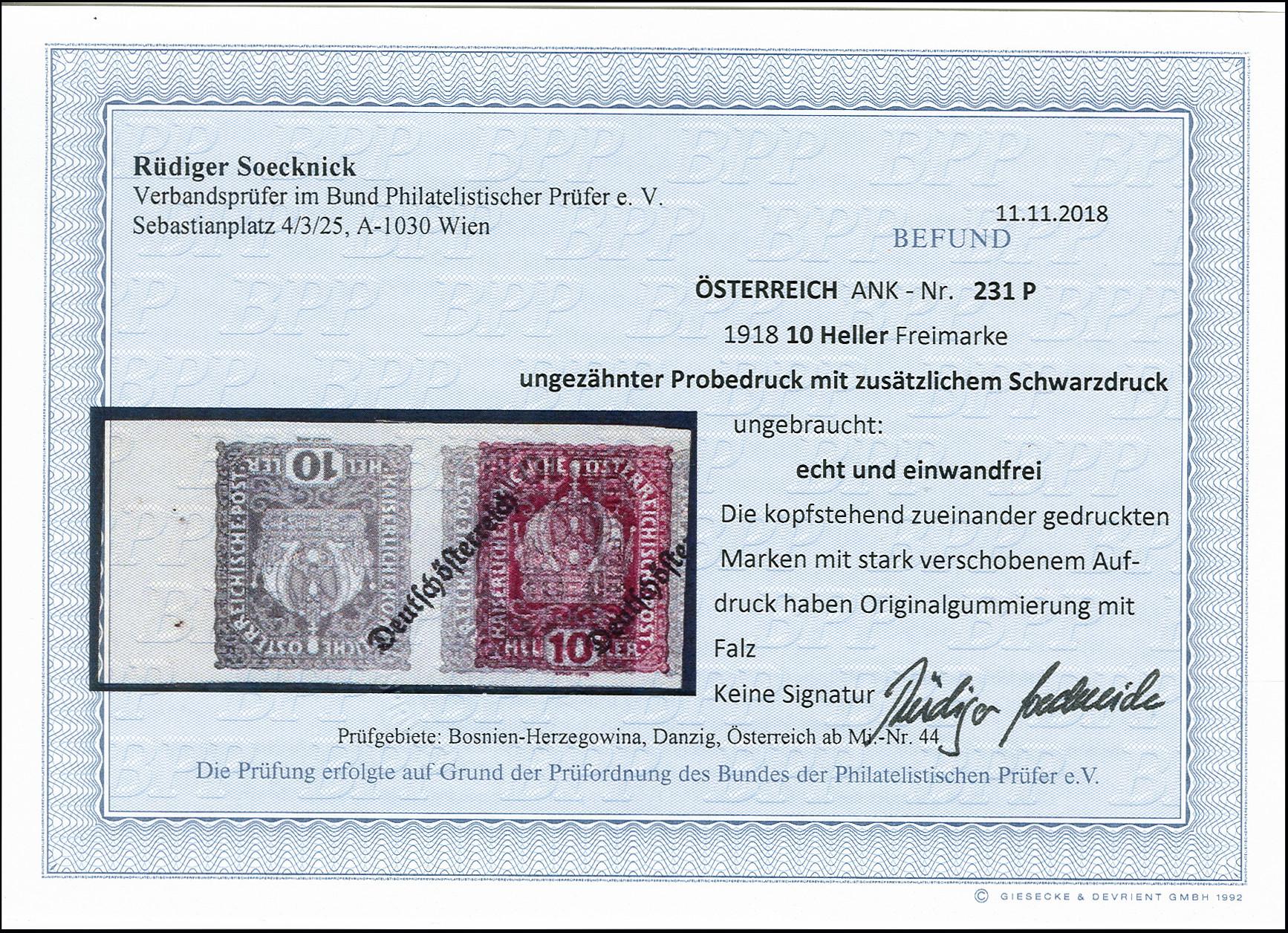 Lot 6 - europe Austria -  Heinrich Koehler Auktionen 373rd Heinrich Köhler auction - Day 1