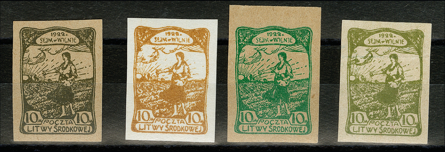 Lot 189 - europe central lithuania -  Heinrich Koehler Auktionen 373rd Heinrich Köhler auction - Day 1