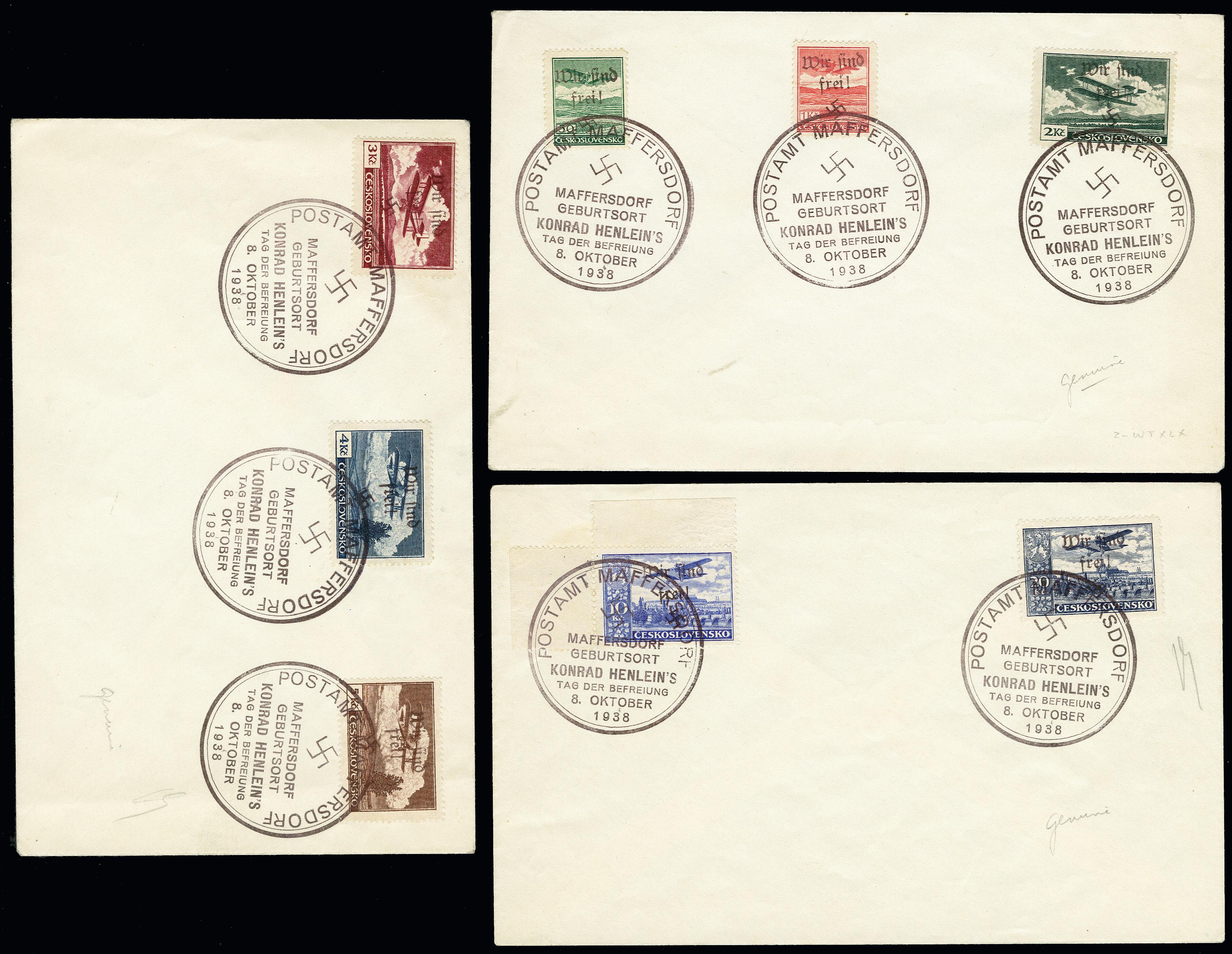Lot 1937 - sudetenland Sudetenland - Maffersdorf -  Heinrich Koehler Auktionen 373rd Heinrich Köhler auction - Day 1