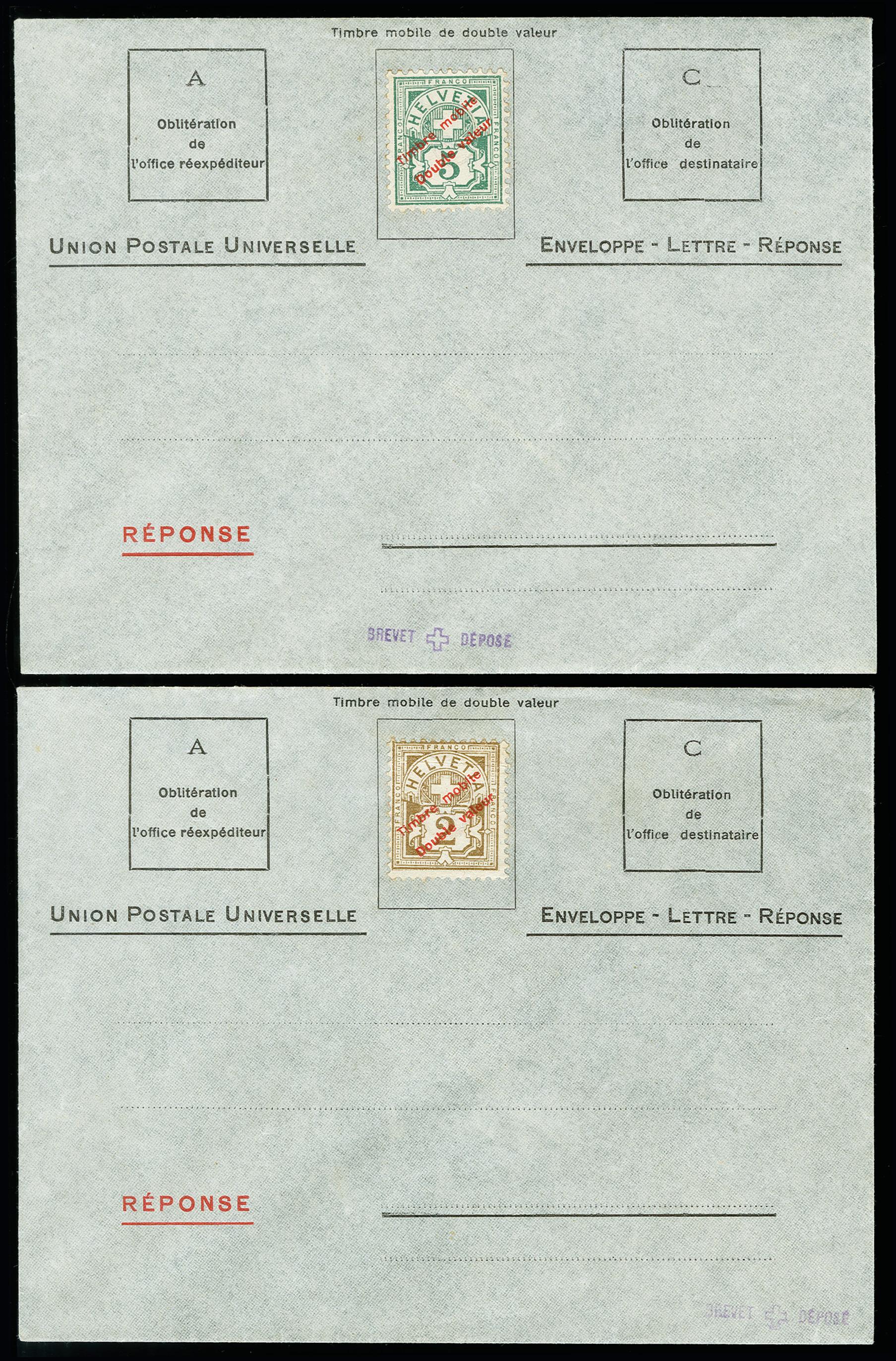 Lot 34 - Switzerland Switzerland - postal stationary -  Heinrich Koehler Auktionen 373rd Heinrich Köhler auction - Day 1