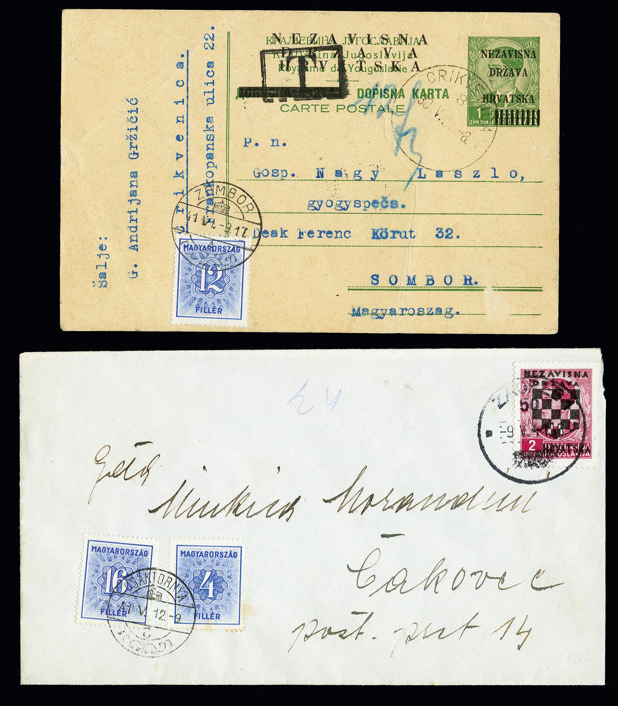 Lot 271 - europe Croatia -  Heinrich Koehler Auktionen 373rd Heinrich Köhler auction - Day 1
