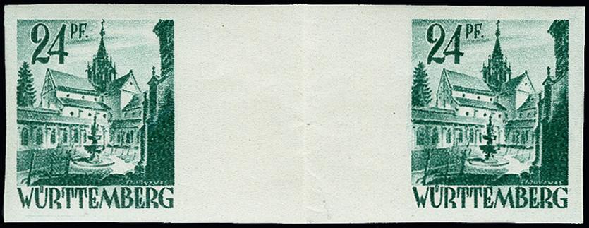 Lot 2410 - french occupation zone french occupation zone -württemberg -  Heinrich Koehler Auktionen 373rd Heinrich Köhler auction - Day 4