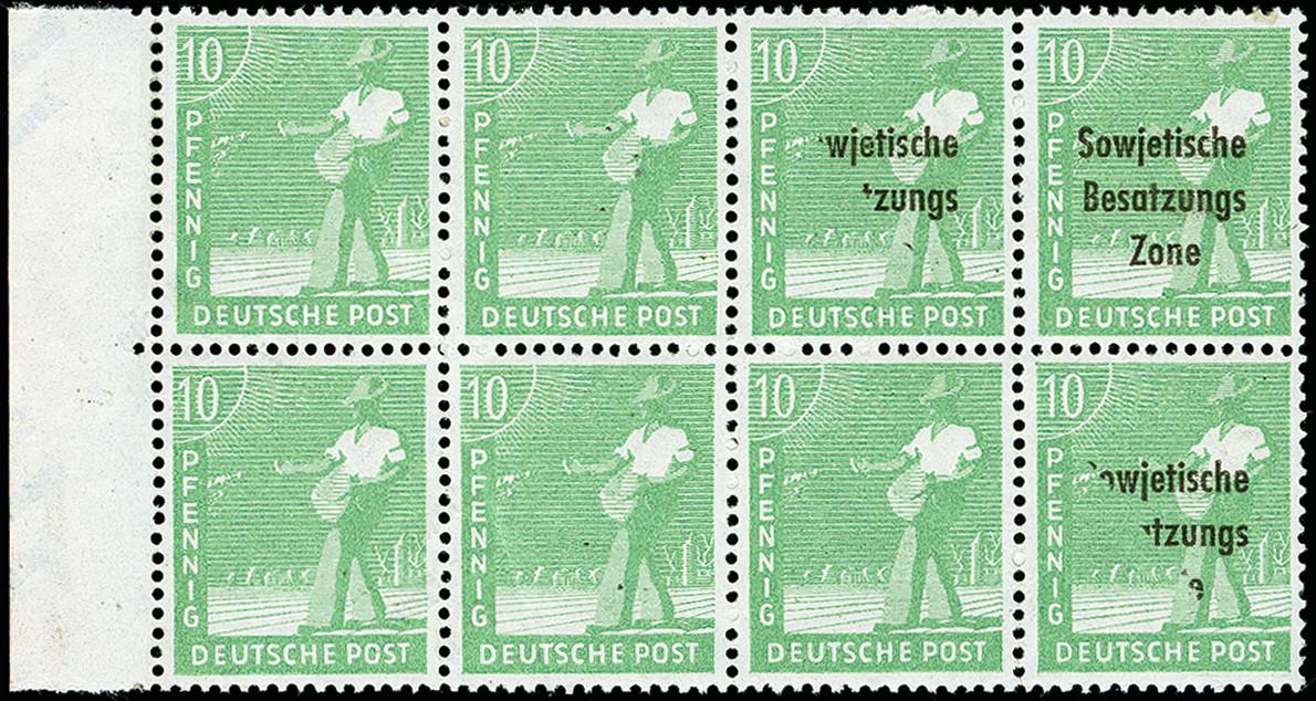 Lot 2274 - sbz (soviet occupation zone) sbz - general issues -  Heinrich Koehler Auktionen 373rd Heinrich Köhler auction - Day 4