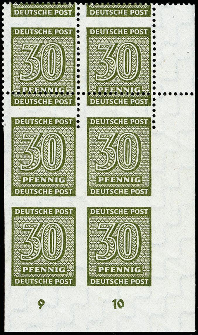 Lot 2240 - sbz (soviet occupation zone) west saxony -  Heinrich Koehler Auktionen 373rd Heinrich Köhler auction - Day 4