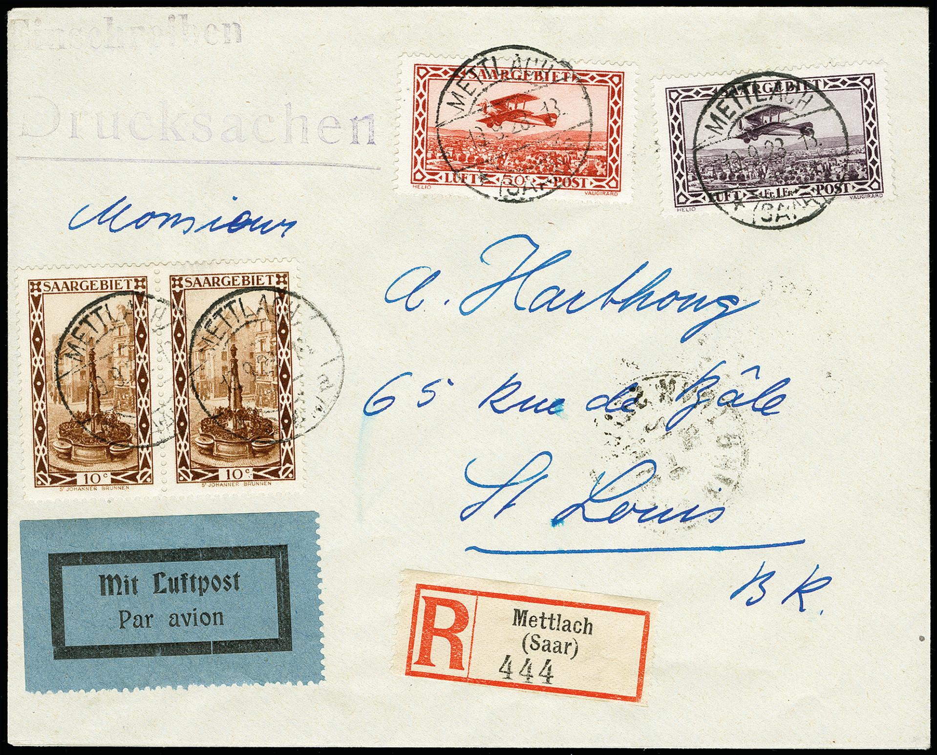 Lot 1488 - Main catalogue saar -  Heinrich Koehler Auktionen 373rd Heinrich Köhler auction - Day 4