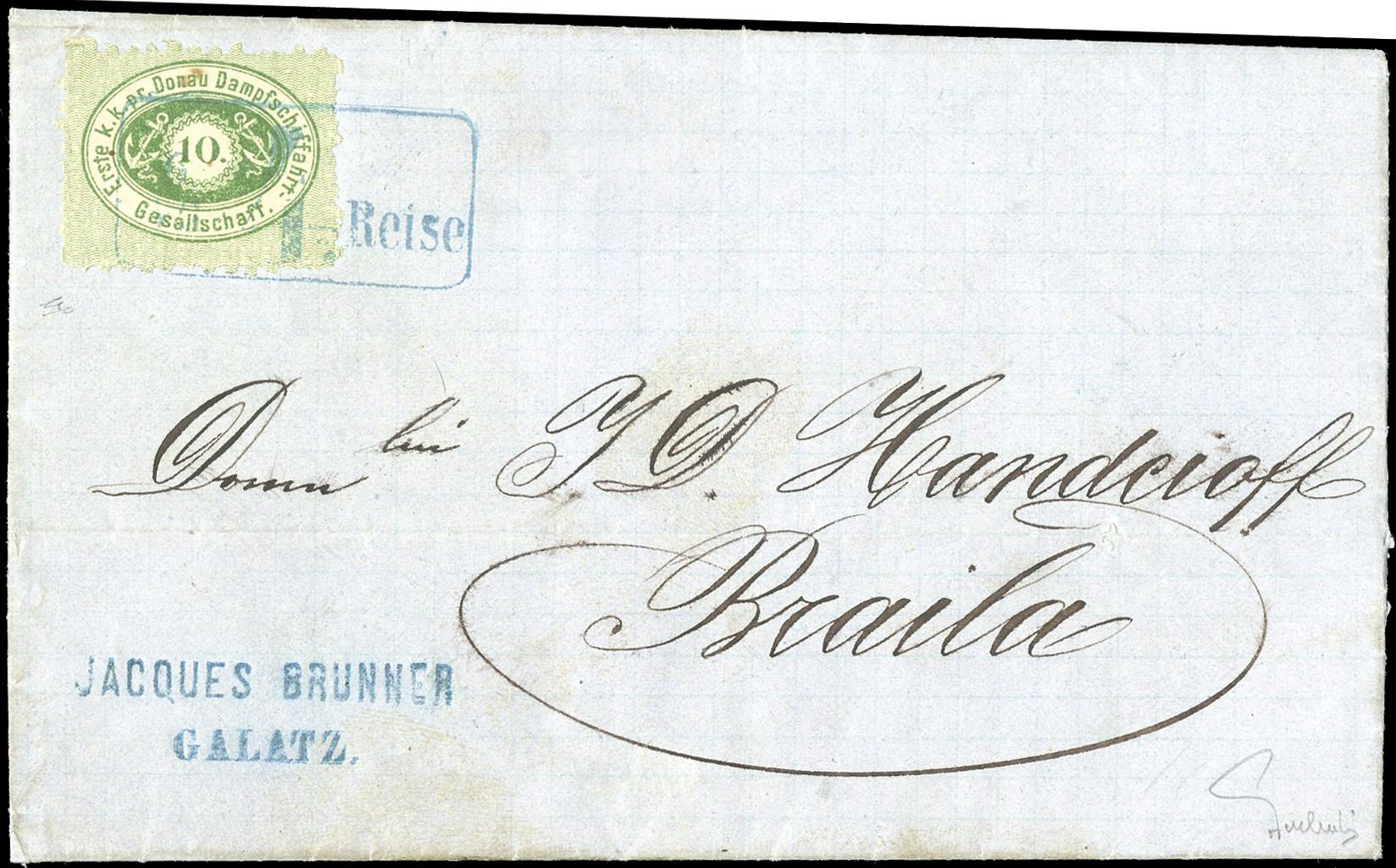 Lot 6172 - Austria DDSG, Ship Mail -  Heinrich Koehler Auktionen 373rd Heinrich Köhler auction - Day 1