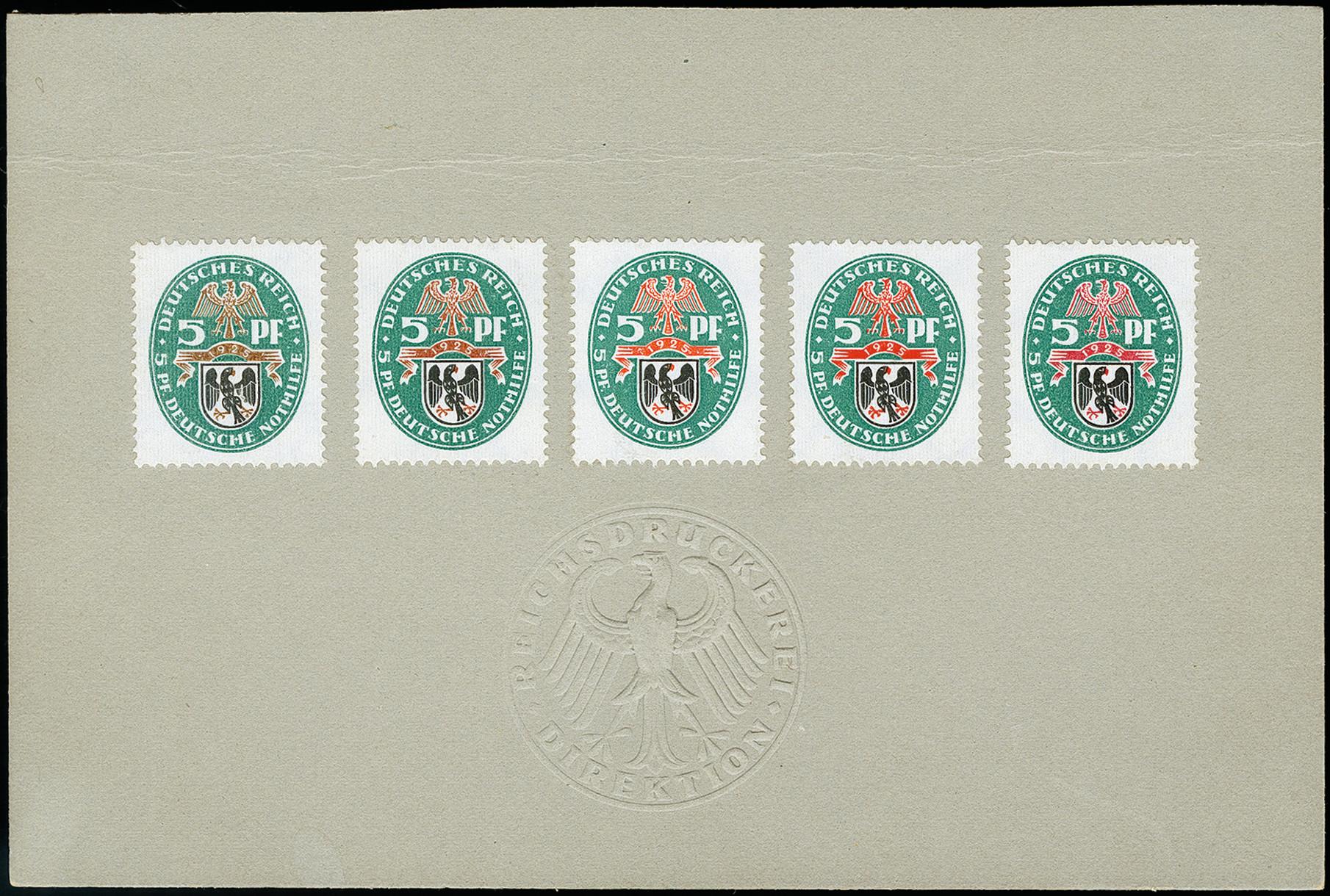 Lot 2725 - Main catalogue German Empire -  Heinrich Koehler Auktionen 373rd Heinrich Köhler auction - Day 5