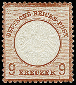 Lot 2640 - Main catalogue German Empire -  Heinrich Koehler Auktionen 373rd Heinrich Köhler auction - Day 5