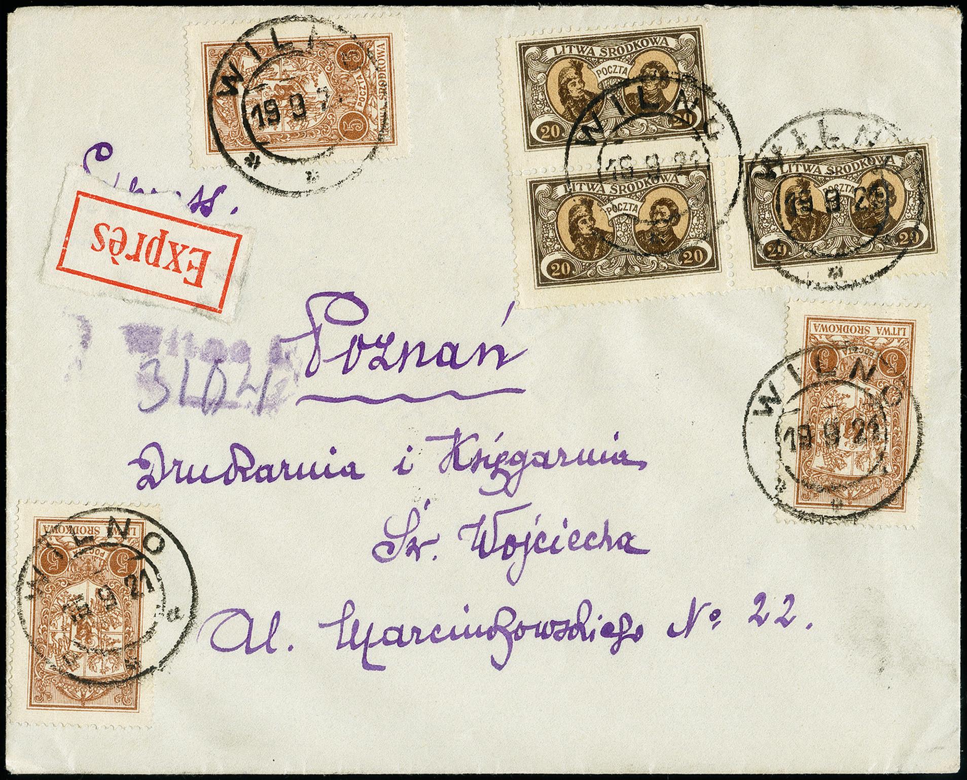 Lot 178 - europe central lithuania -  Heinrich Koehler Auktionen 373rd Heinrich Köhler auction - Day 1
