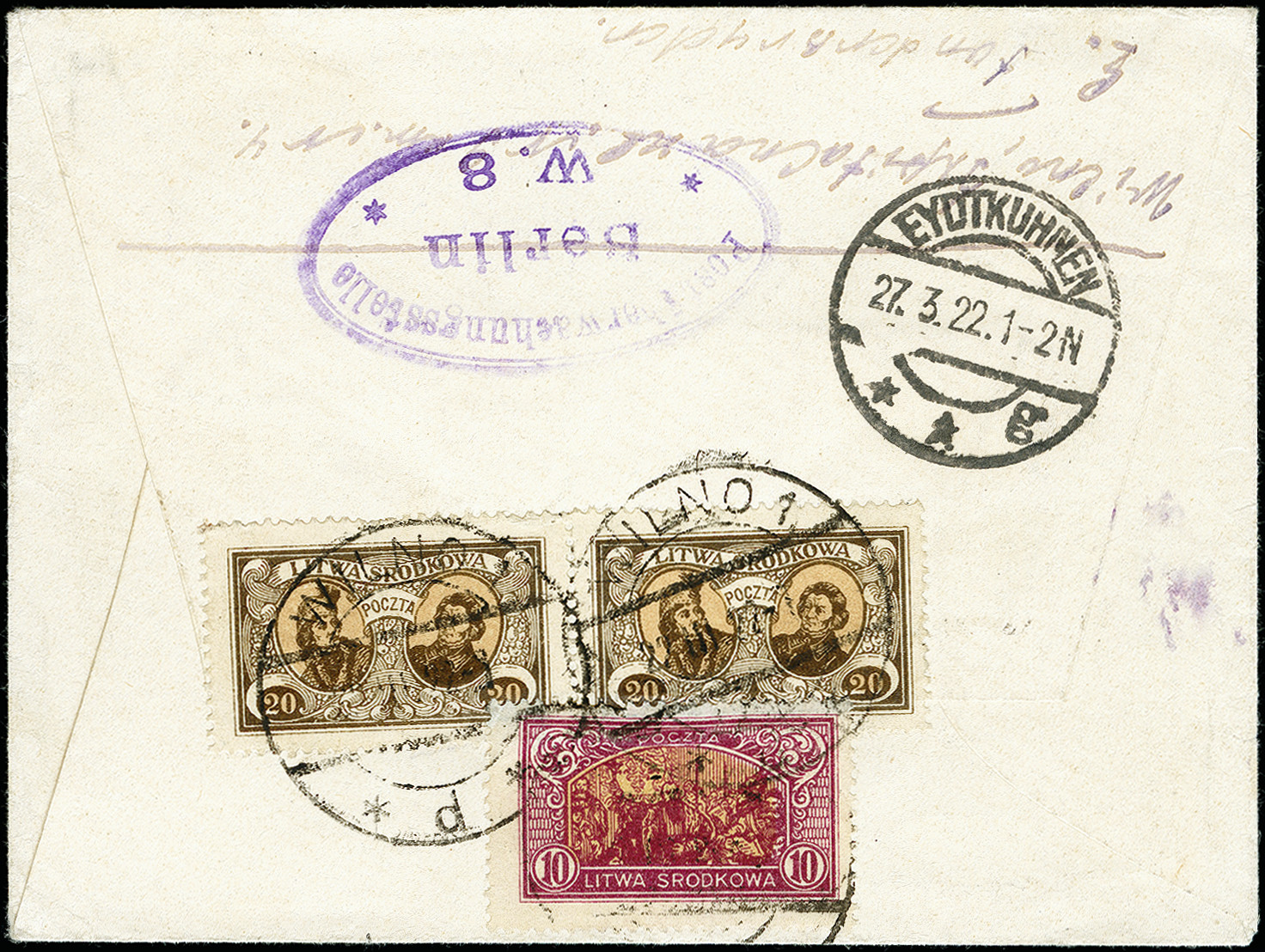 Lot 180 - europe central lithuania -  Heinrich Koehler Auktionen 373rd Heinrich Köhler auction - Day 1