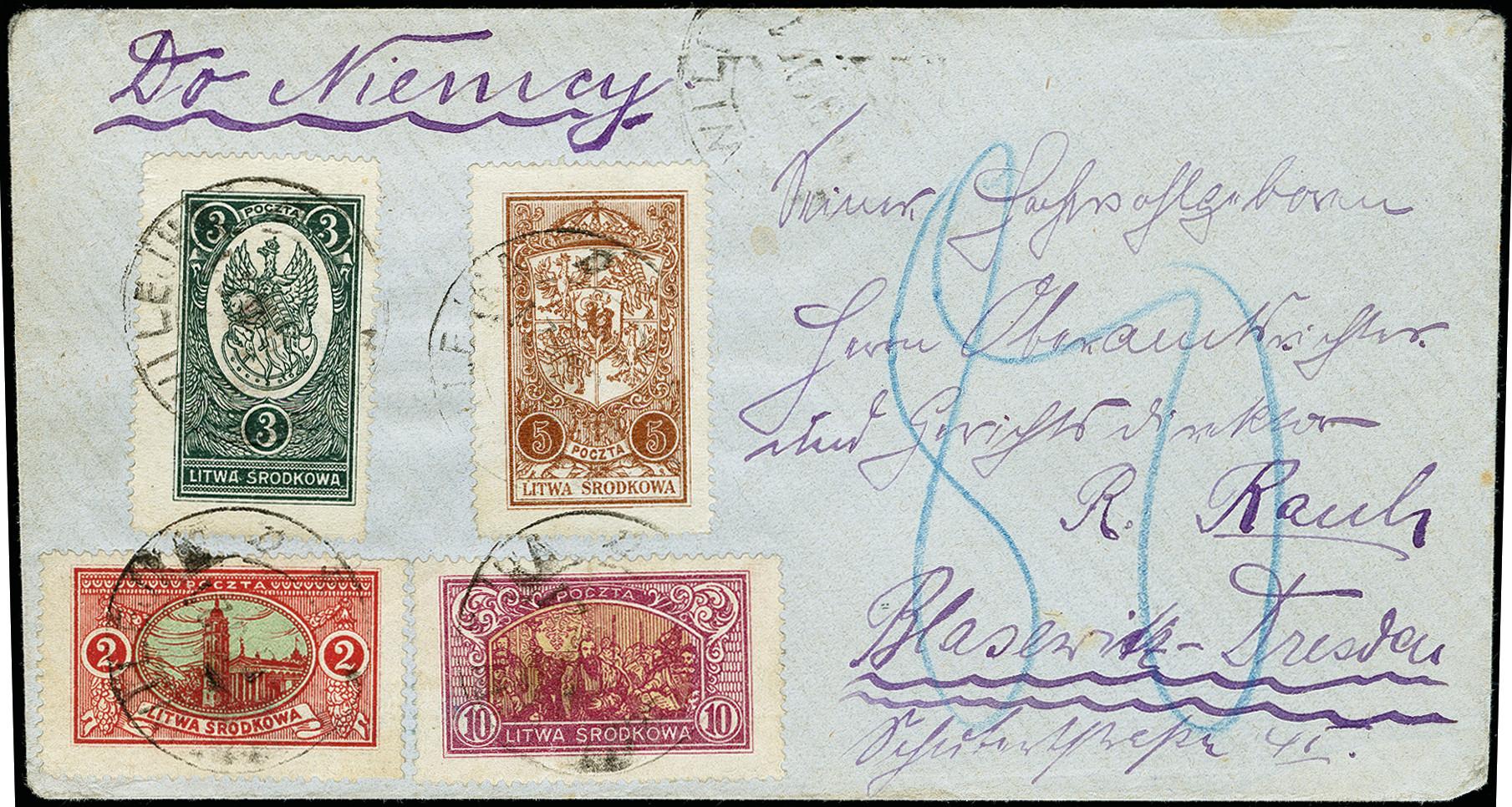 Lot 175 - europe central lithuania -  Heinrich Koehler Auktionen 373rd Heinrich Köhler auction - Day 1