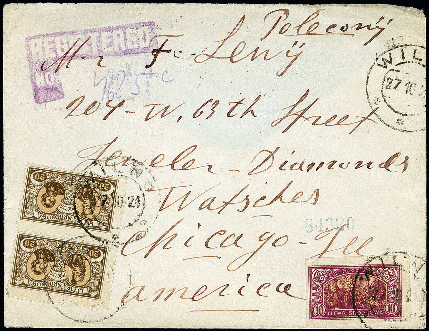 Lot 182 - europe central lithuania -  Heinrich Koehler Auktionen 373rd Heinrich Köhler auction - Day 1